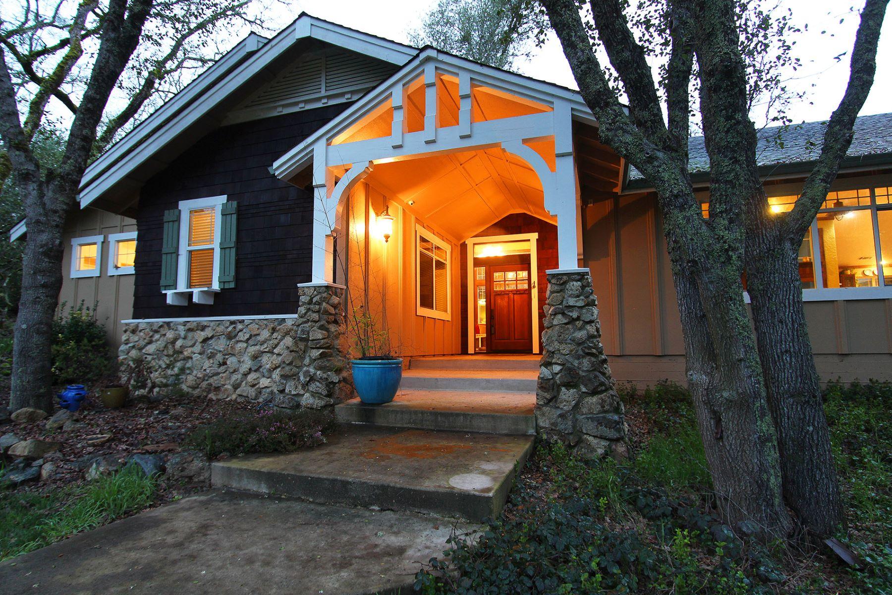 Casa Unifamiliar por un Venta en New custom 4,974 sqft 1 level home on 5.14 Acres 6600 No Easy Road Lotus, California 95651 Estados Unidos