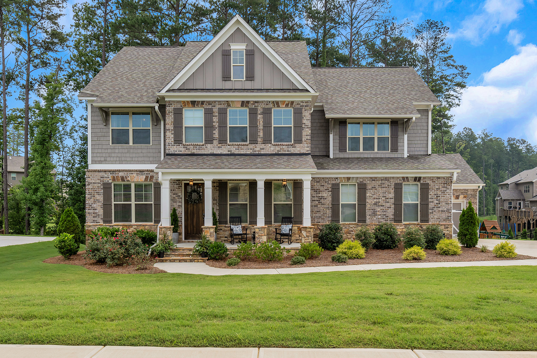 Single Family Homes por un Venta en Shows Like A Model Home! 2958 Balvenie Pl, Acworth, Georgia 30101 Estados Unidos