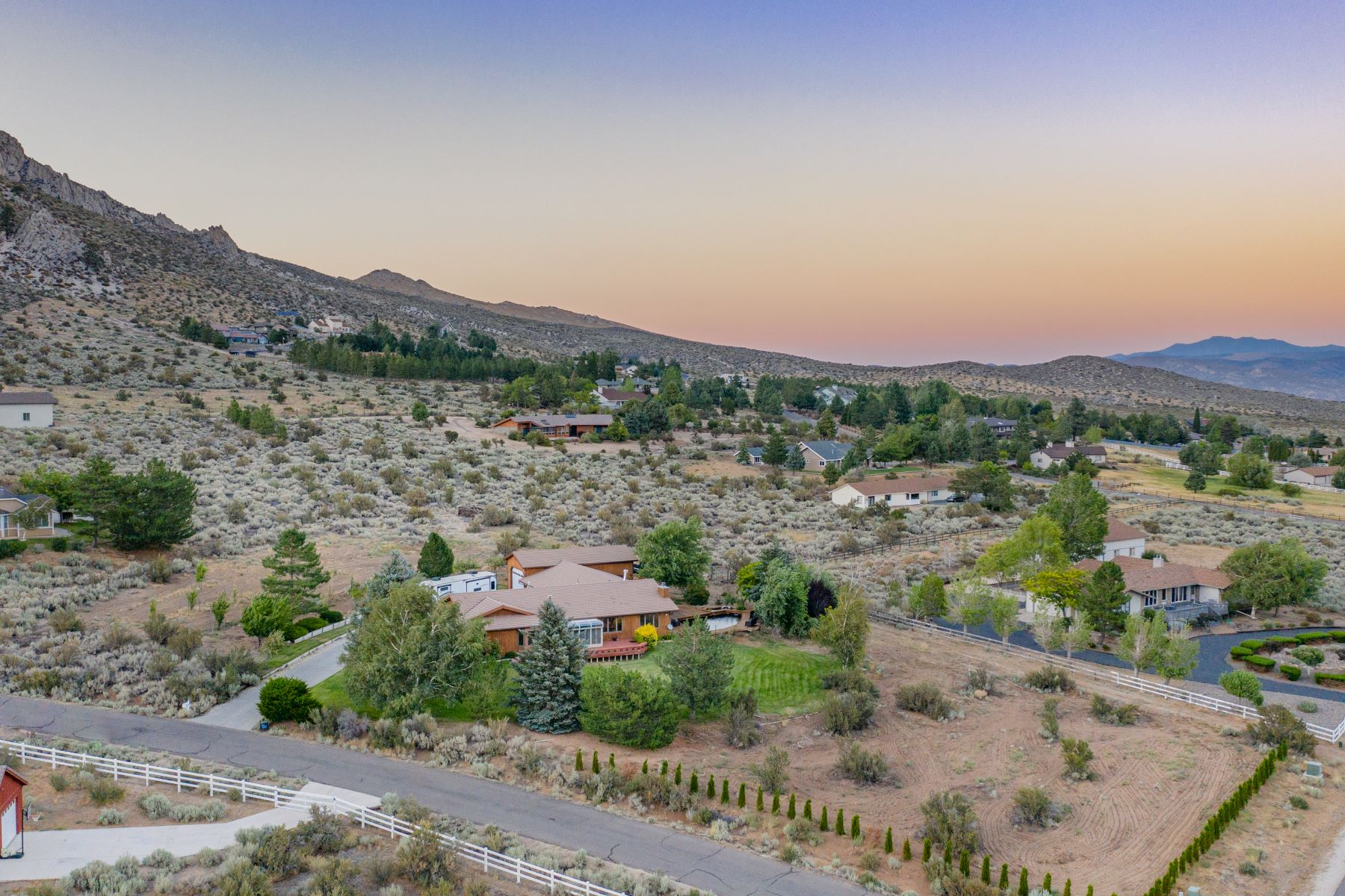 Additional photo for property listing at 2 Acres with Views and Pond 3475 Alpine View Ct. Carson City, Nevada 89705 United States