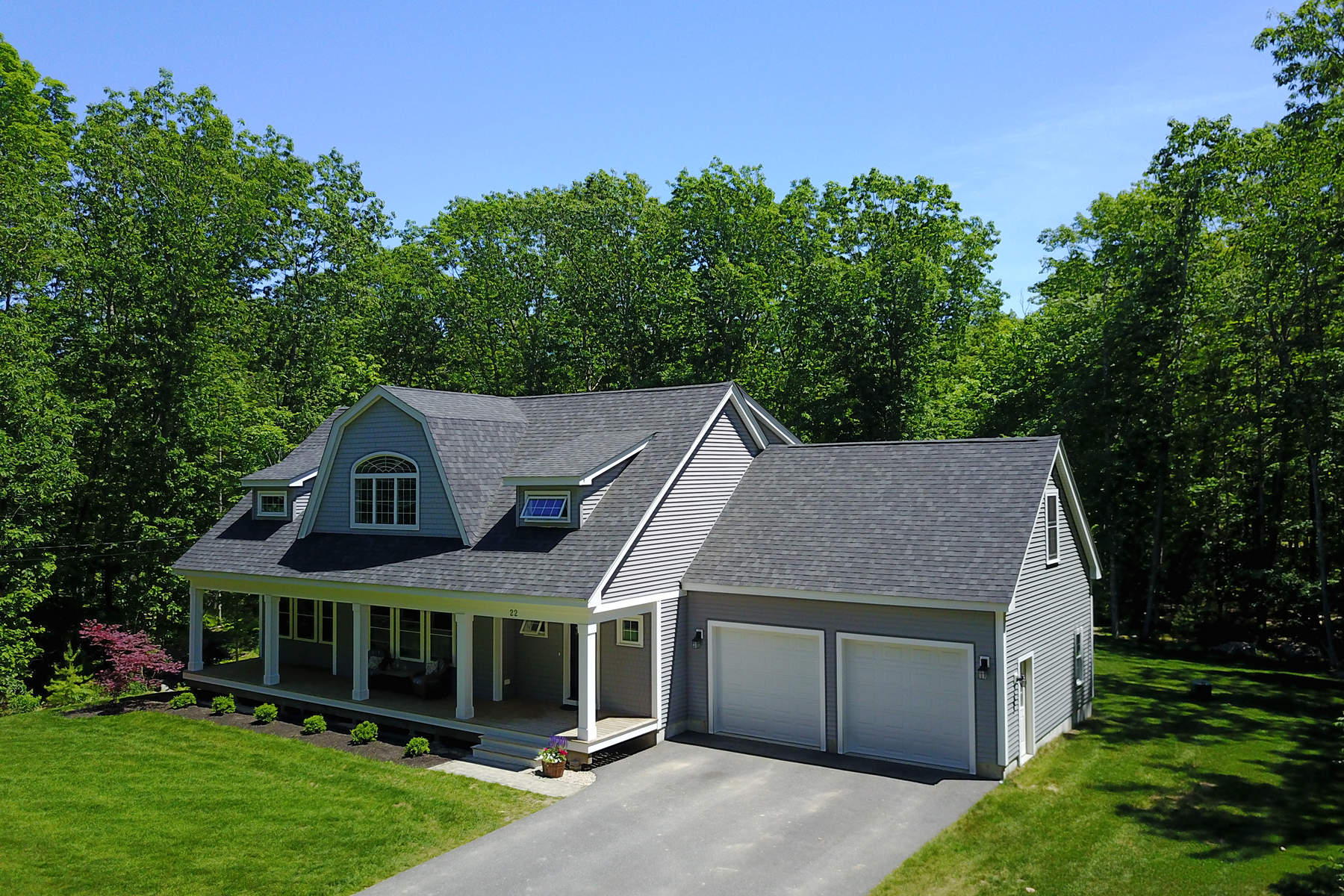 Single Family Home for Sale at Western Point Shingle-Style Home 22 Brave Boat Harbor Road York, Maine, 03909 United States