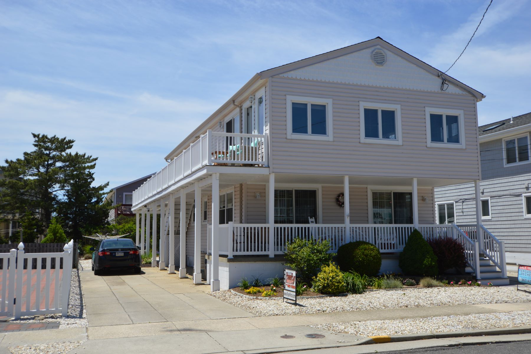Duplex for Rent at Beach Neighboring Duplex 225 81st Street, Stone Harbor, New Jersey 08247 United States