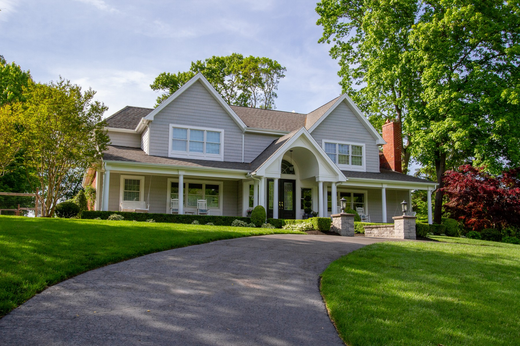 Single Family Homes for Sale at Private Setting 36 Red Coach Lane Locust, New Jersey 07760 United States