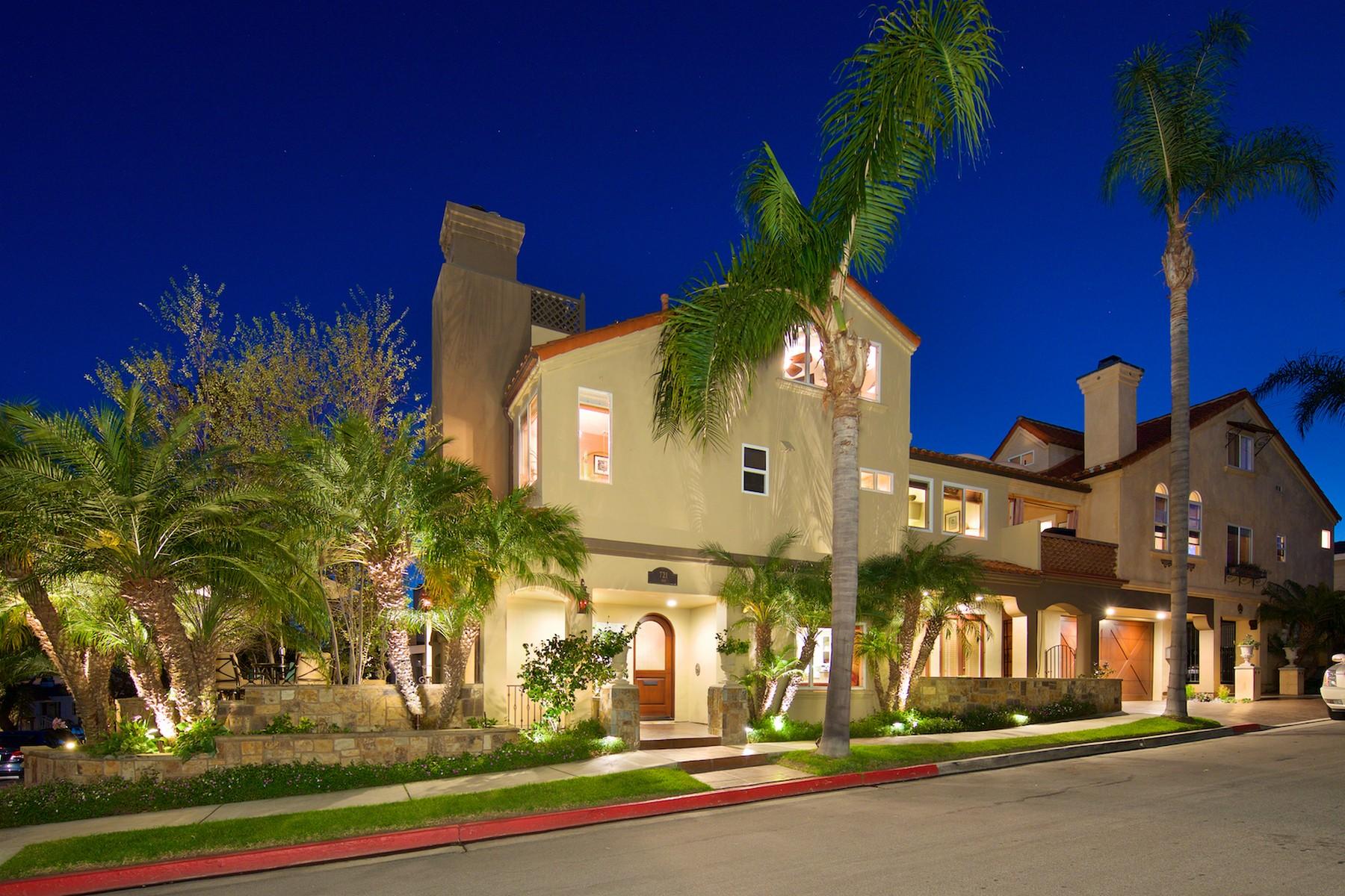 コンドミニアム のために 売買 アット 721 Iris Avenue Corona Del Mar, カリフォルニア, 92625 アメリカ合衆国