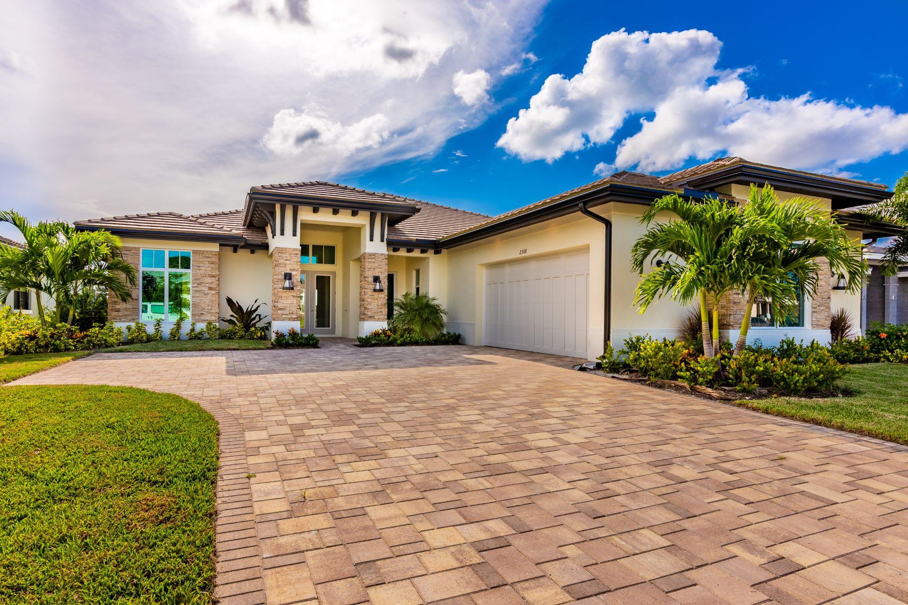 Single Family Homes vì Bán tại Luxury New Construction in Grand Harbor 2352 Grand Harbor Reserve Square Vero Beach, Florida 32967 Hoa Kỳ