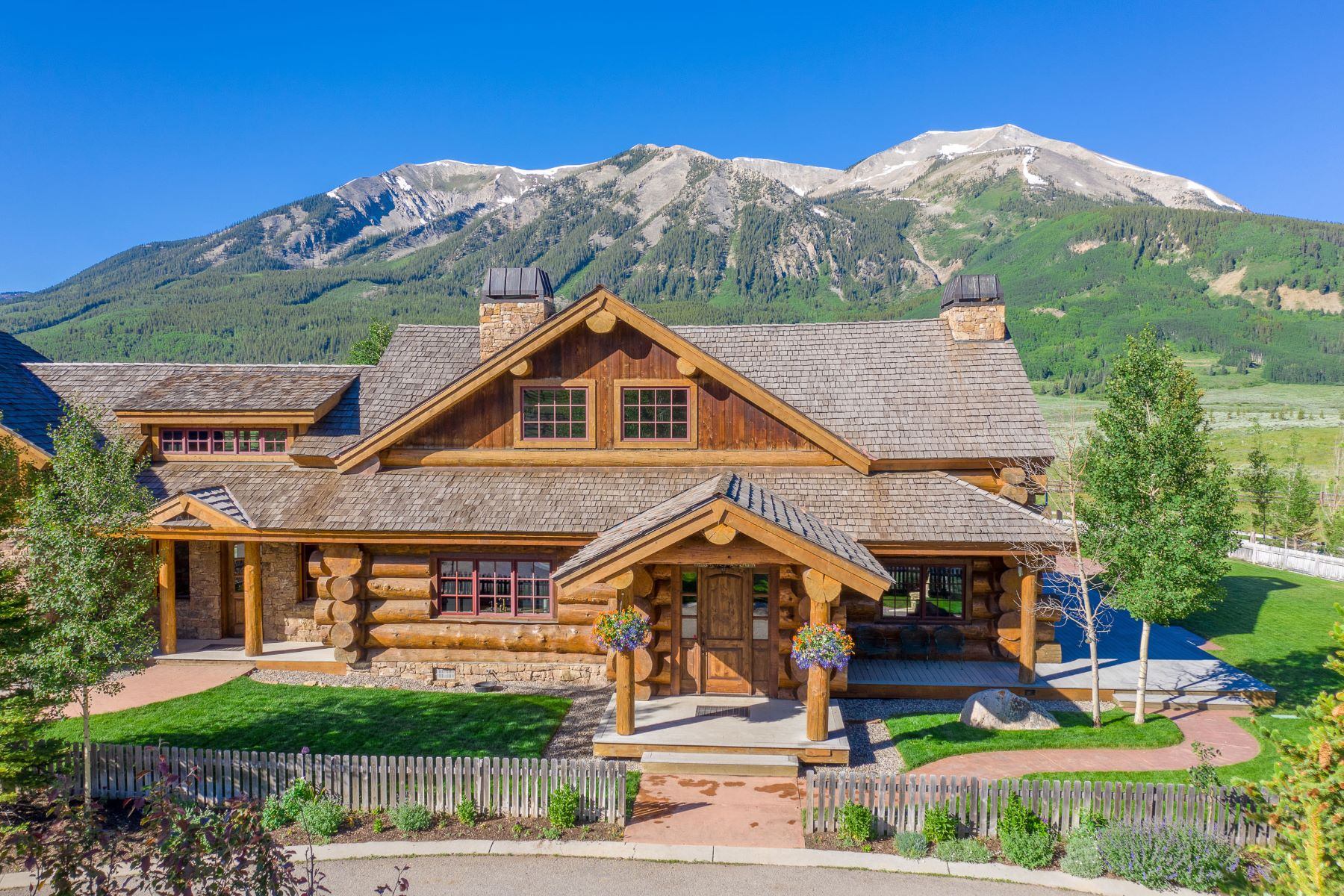 Single Family Homes for Sale at Red Feather Ranch 340 Wright Ranch Road, Crested Butte, Colorado 81224 United States
