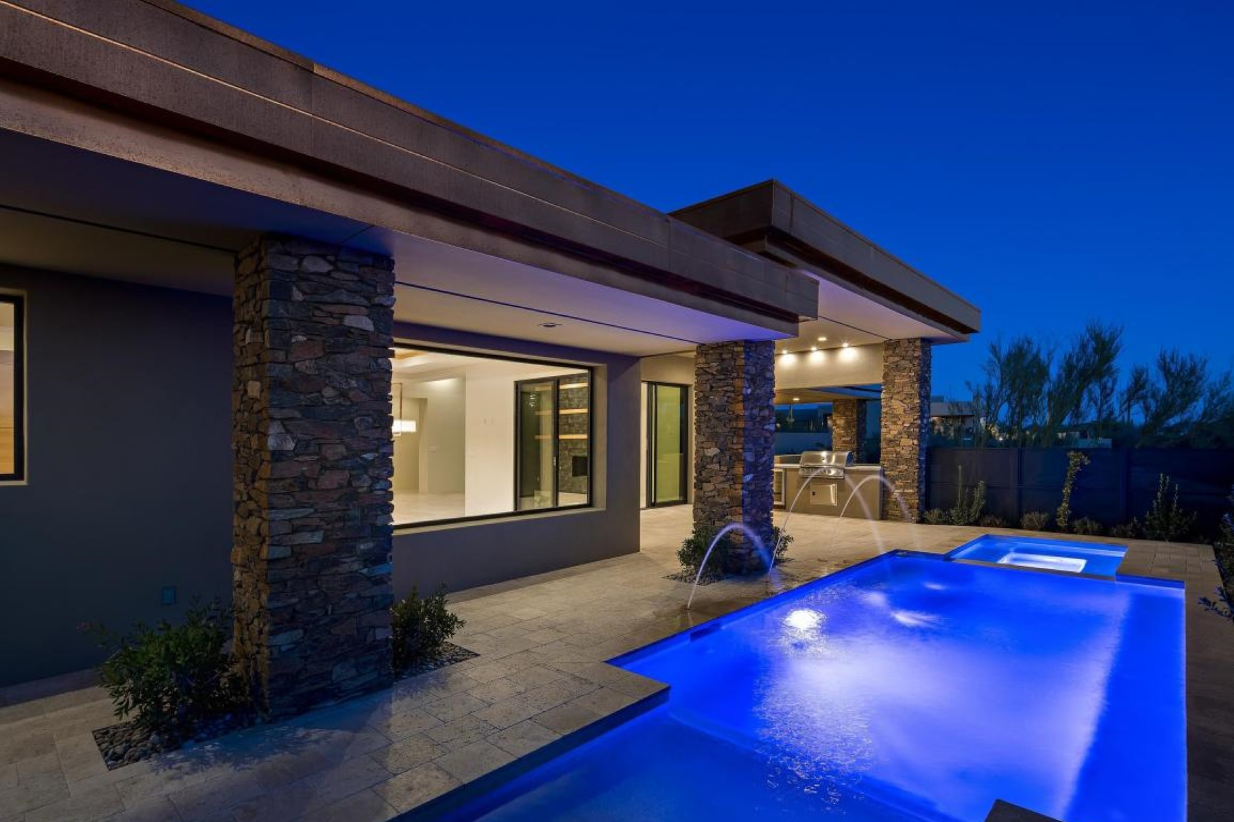 Single Family Home for Sale at New Contemporary Home 39593 N 104TH ST, Scottsdale, Arizona, 85262 United States