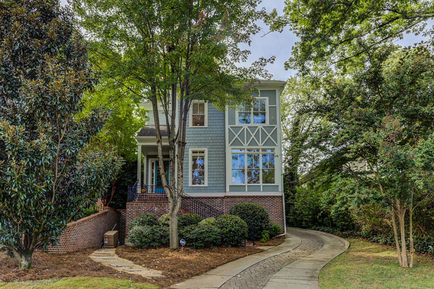 Single Family Homes por un Venta en City Of Decatur A Short Jaunt To All That Decatur Offers! 208 Clarion Avenue, Decatur, Georgia 30030 Estados Unidos