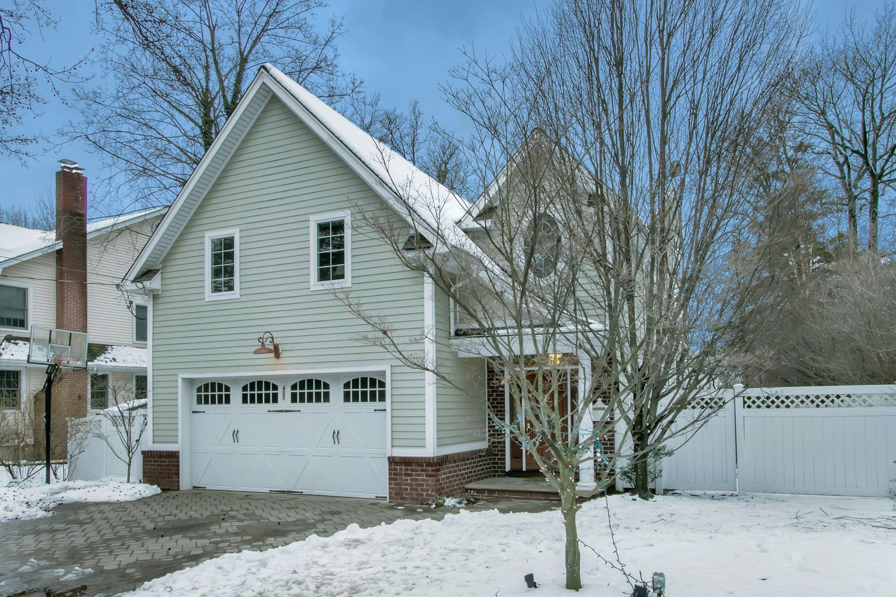 Maison unifamiliale pour l à vendre à Beautiful Colonial 407 Knickerbocker Road, Tenafly, New Jersey, 07670 États-Unis