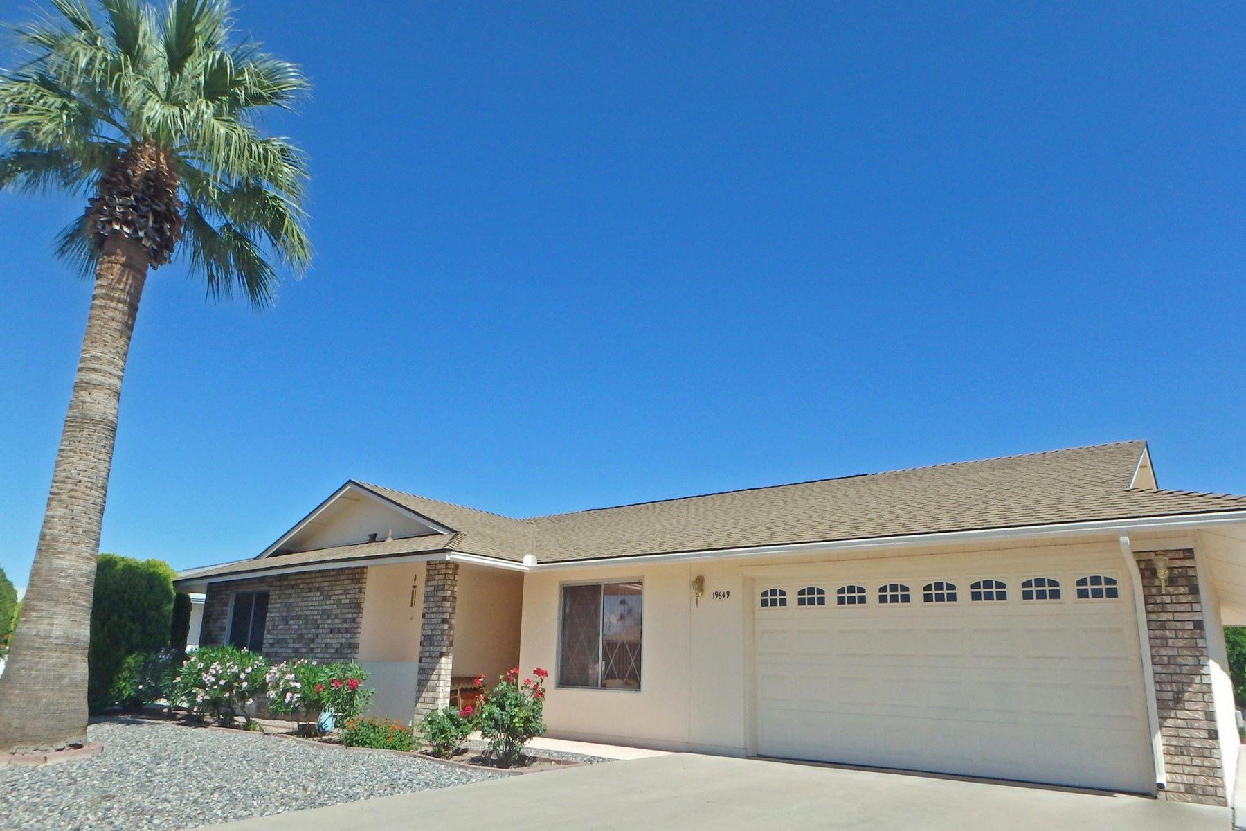 Single Family Homes por un Venta en Sun City West 19649 N CONCHO CIR Sun City, Arizona 85373 Estados Unidos