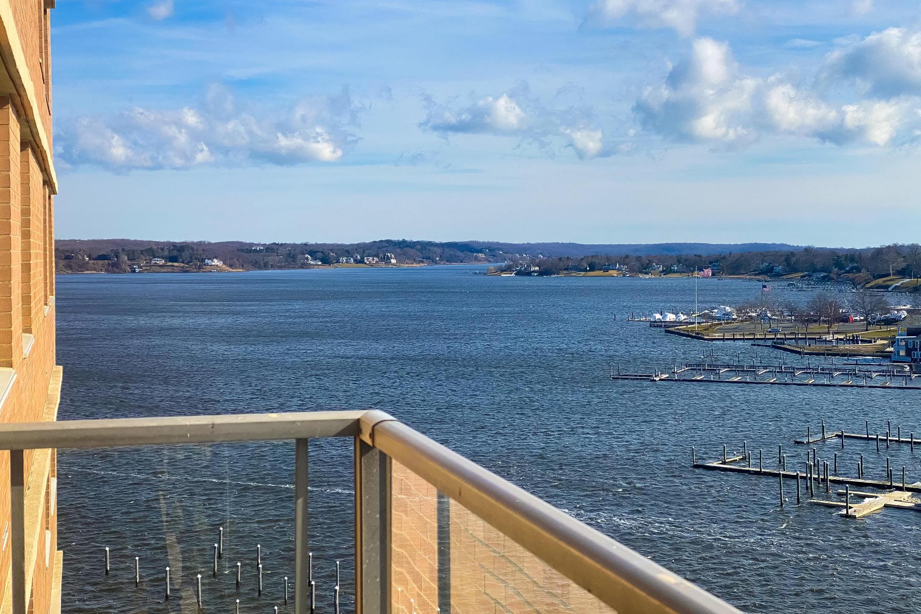 Condominiums 为 销售 在 Mesmerizing Views of the Navesink River 28 Riverside Avenue, 7B, 雷德班克, 新泽西州 07701 美国