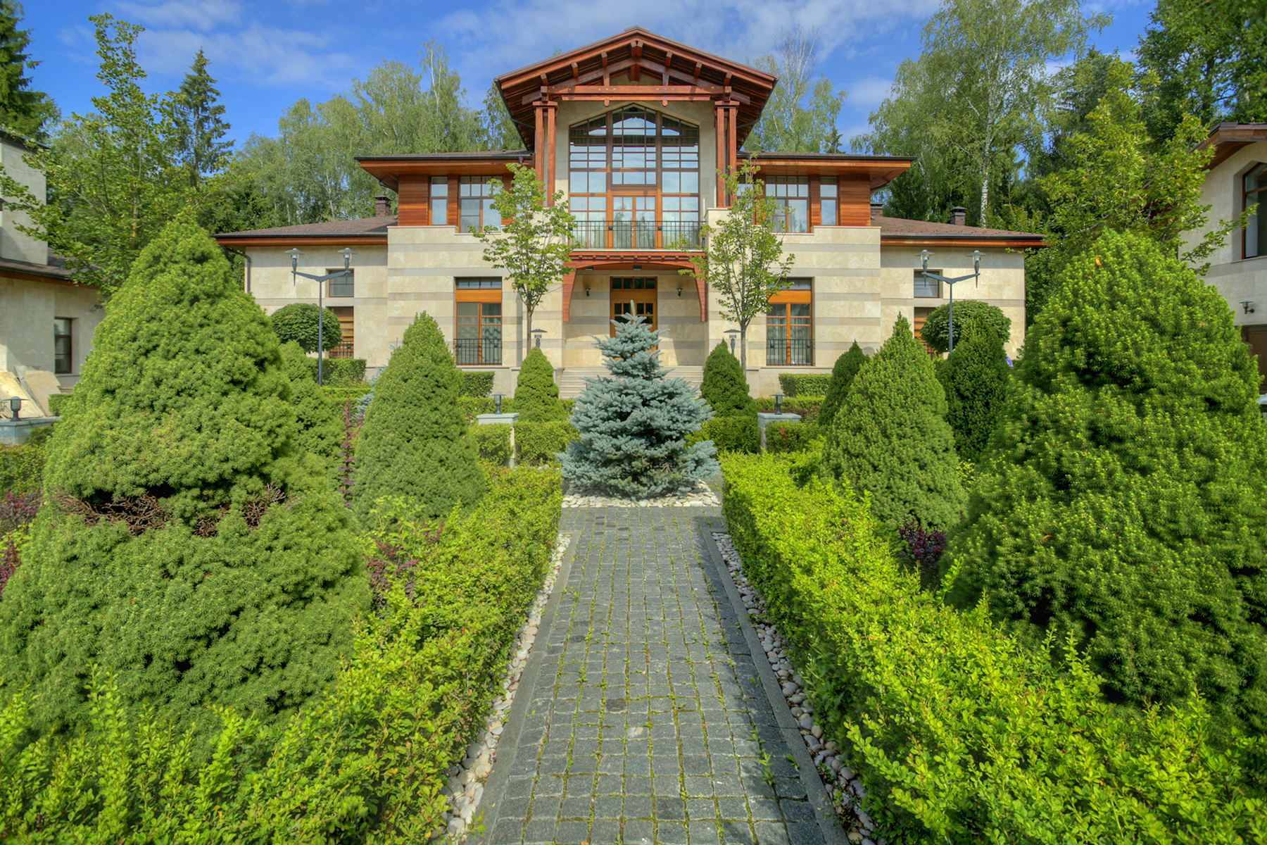 """Single Family Home for Sale at Estate in """"Landscape"""" Moscow, Moscow City, Russia"""