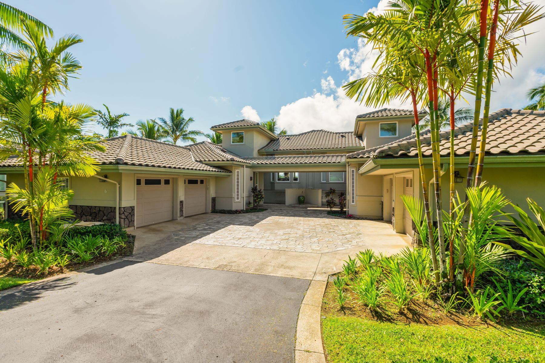 townhouses για την Πώληση στο Kaiulani of Princeville #6 4100 Queen Emmas Drive #6, Princeville, Χαβαη 96722 Ηνωμένες Πολιτείες