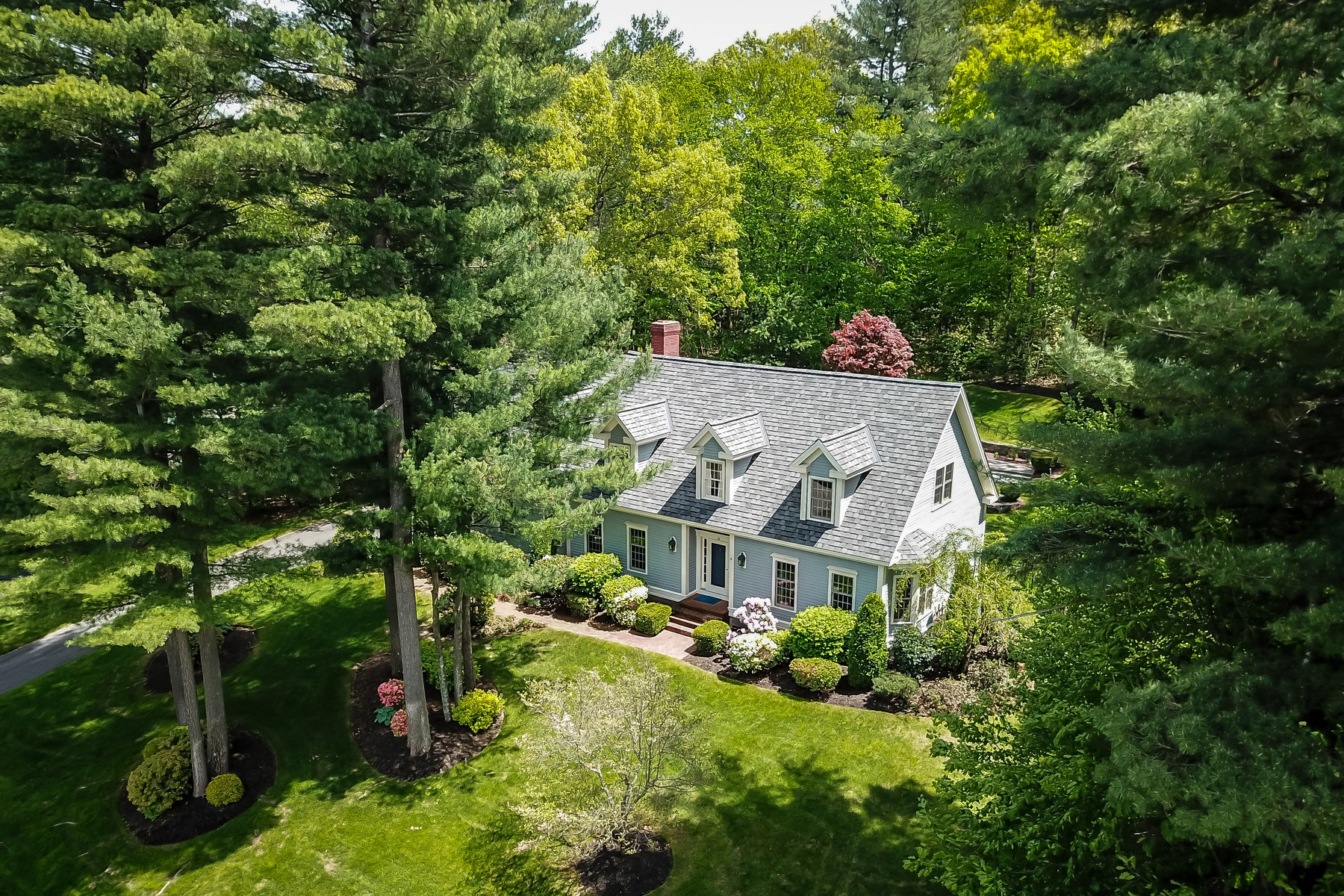 Single Family Homes for Active at Pristine Four Bedroom Cape 10 Bertis Adams Way Westborough, Massachusetts 01581 United States