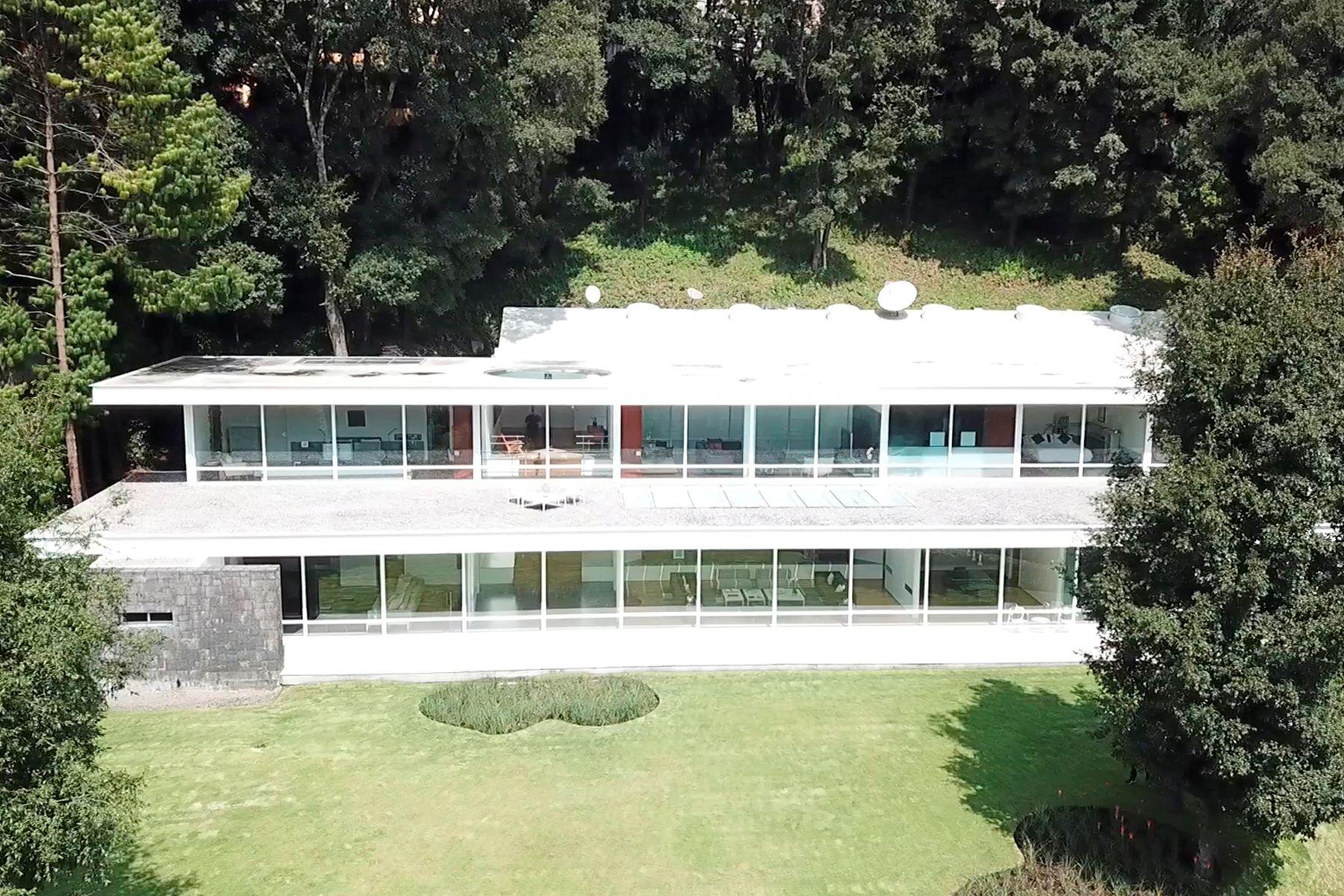 Single Family Home for Sale at Casa del Bosque , Acopilco, Ciudad de Mexico 1a Cerrada Monte de las Cruces 86 San Lorenzo Acopilco Mexico City, Ciudad de Mexico 05410 Mexico