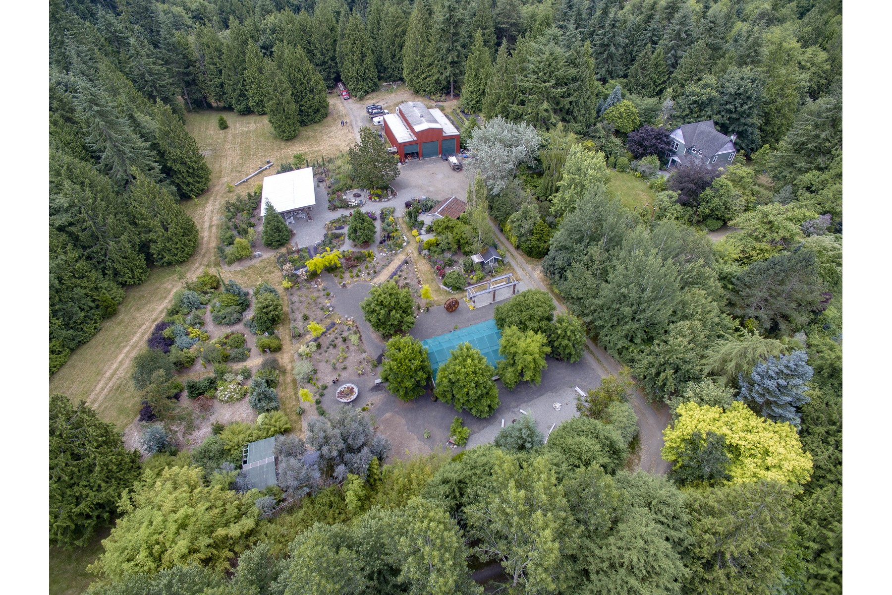 Single Family Home for Sale at Dragonfly Farm 34881 Hansville Rd NE Kingston, Washington 98346 United States