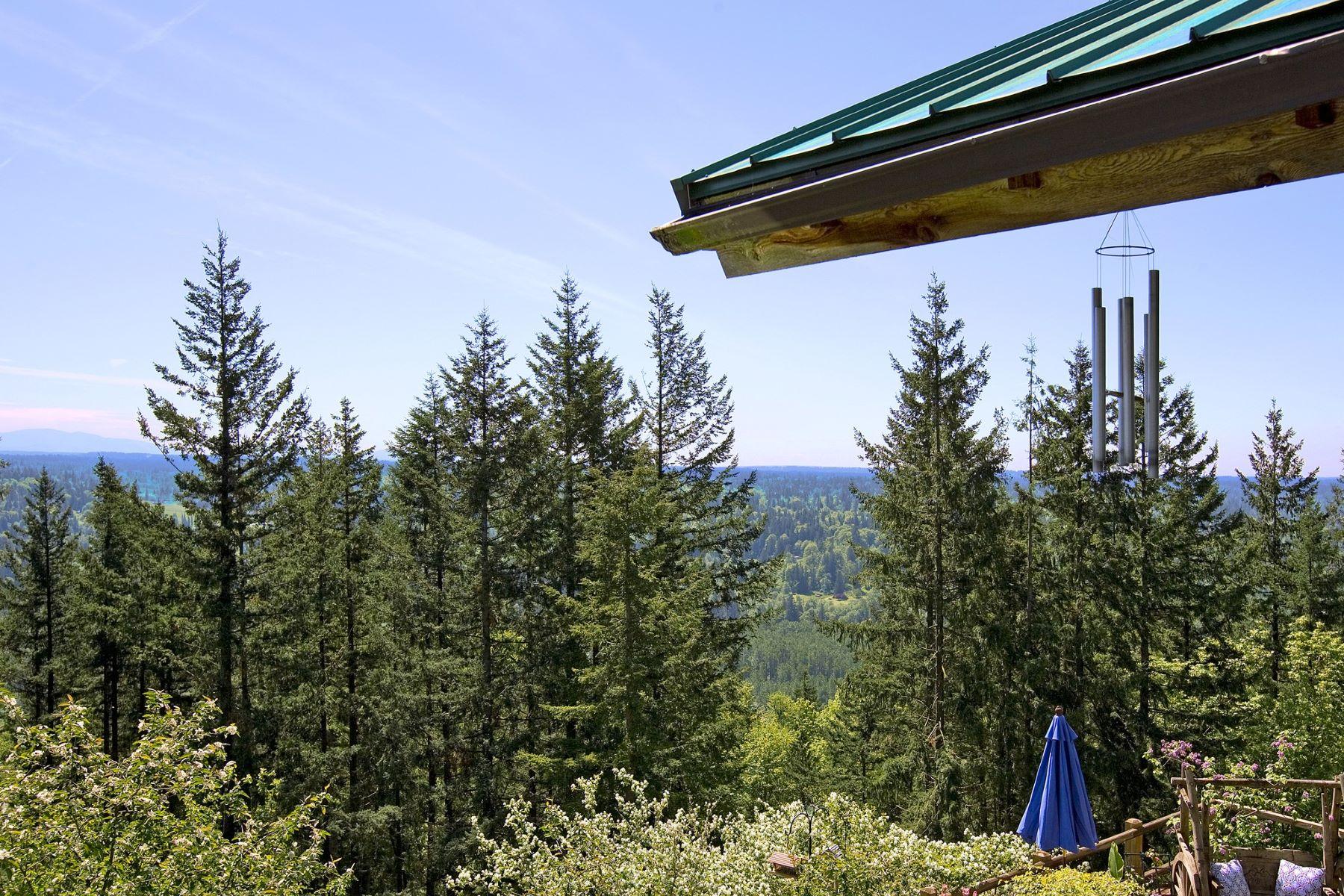 Maison unifamiliale pour l Vente à One of a Kind Mountain Retreat 14430 176th Place SE Snohomish, Washington 98290 États-Unis
