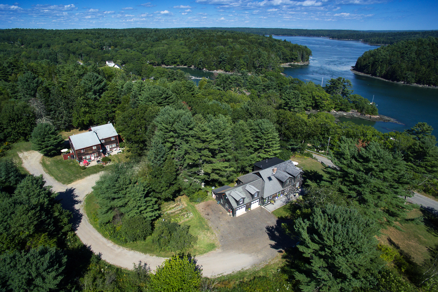Single Family Home for Sale at 5 & 17 Ice Pond Road Boothbay, Maine 04537 United States