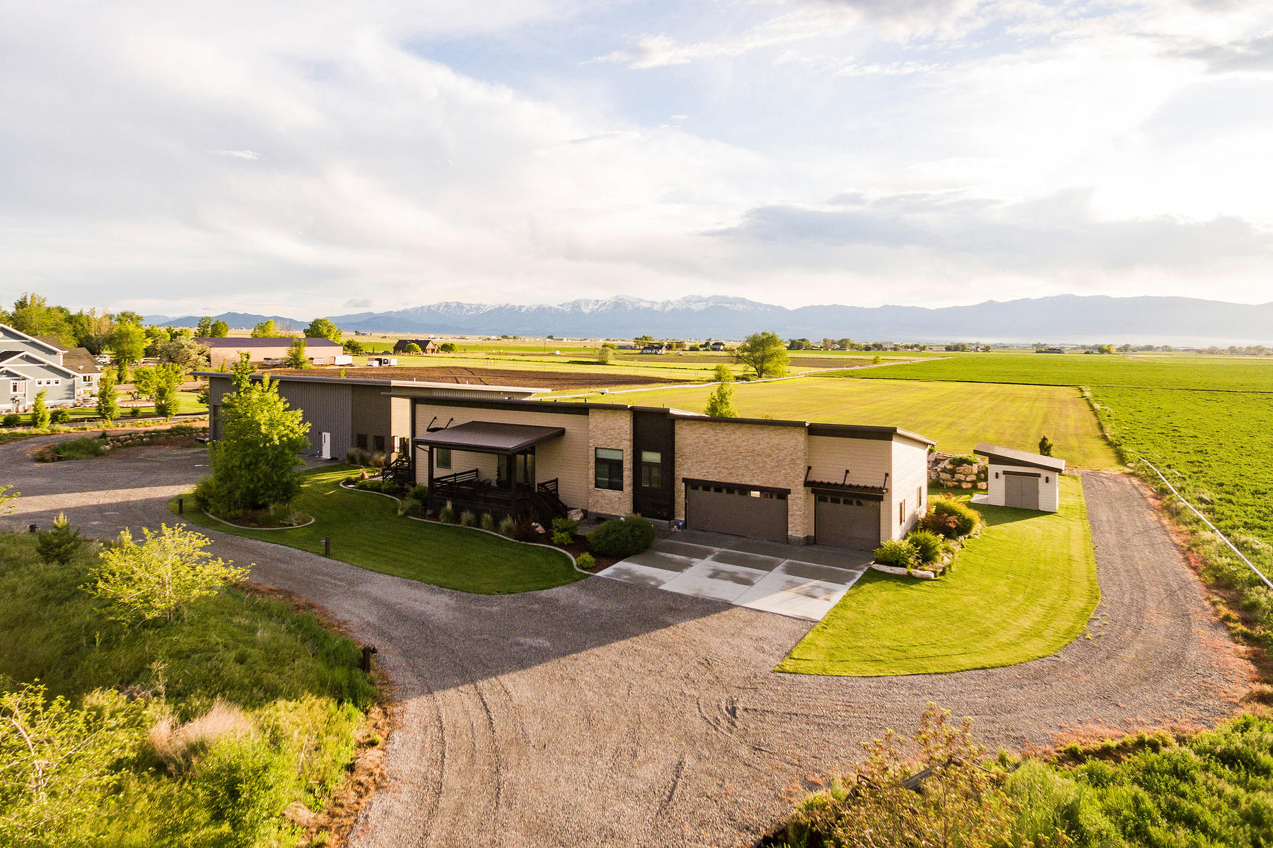 Single Family Homes for Active at Panoramic Views surround This East Erda Home 4157 Droubay Rd Erda, Utah 84074 United States