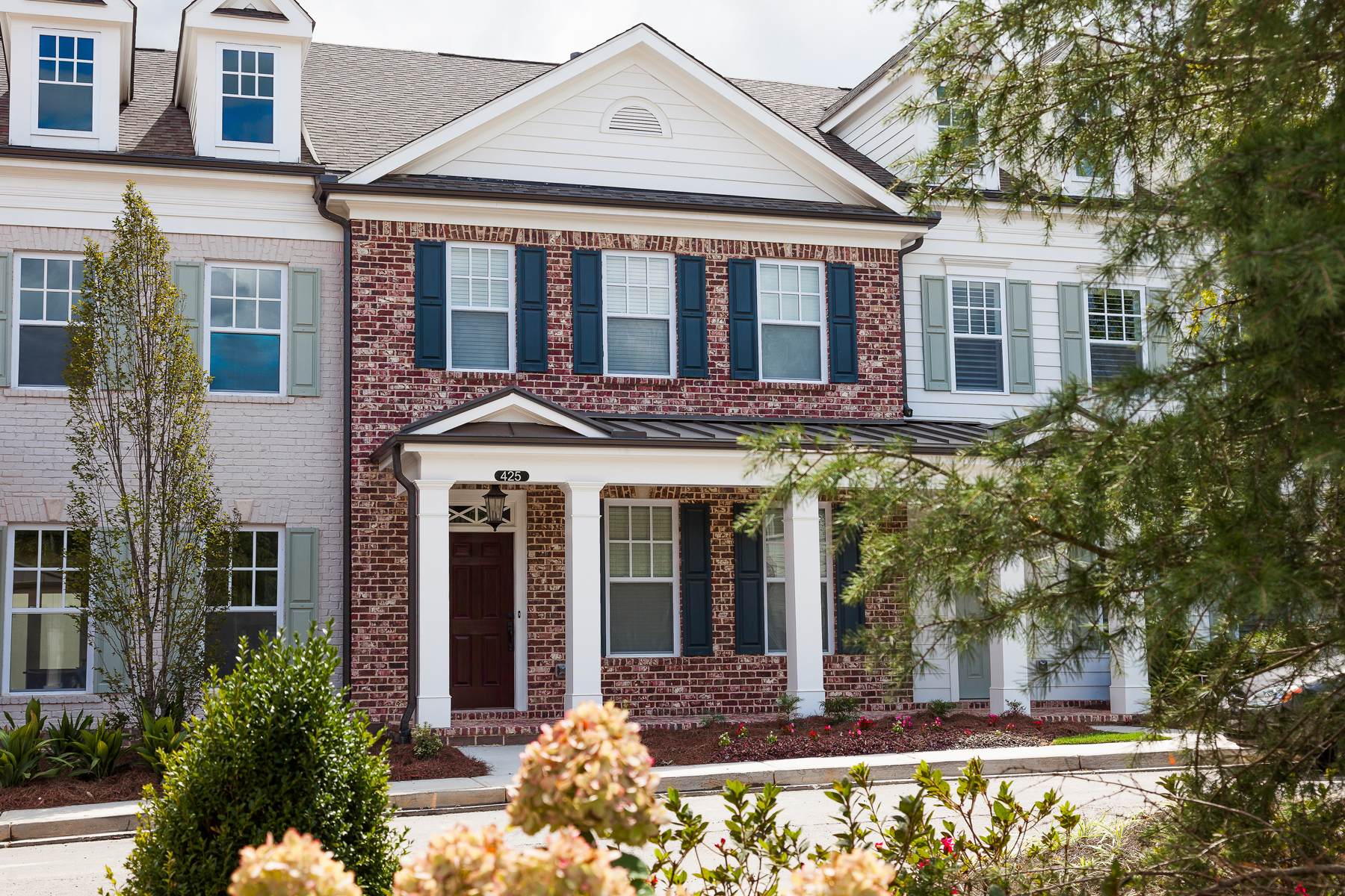 Townhouse for Rent at Brand New In The Heart Of Alpharetta 425 Letchas Lane Alpharetta, Georgia 30009 United States