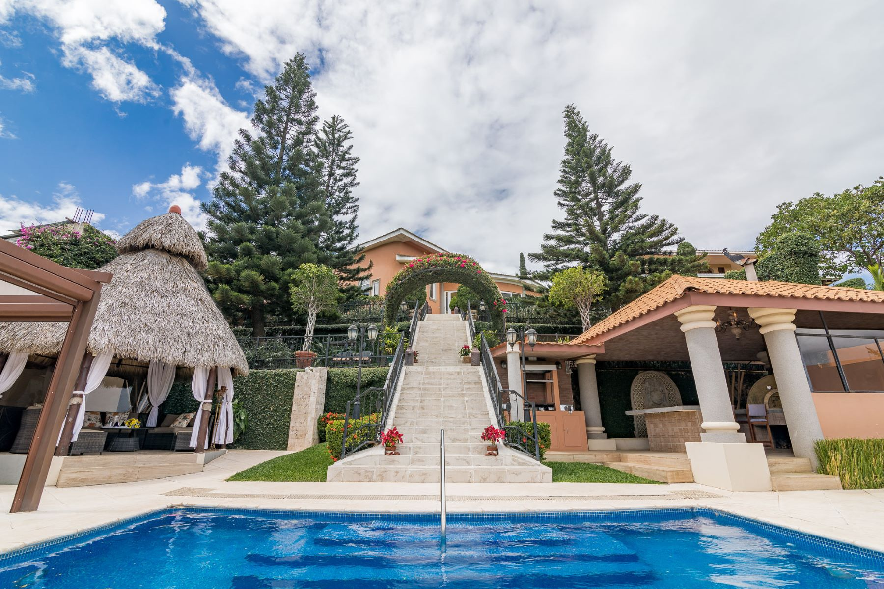 Single Family Home for Sale at Italian Style Villa Santori with breathtaking views Villa Santori Residencial Valle de Luna, Managua, Managua, 00000 Nicaragua