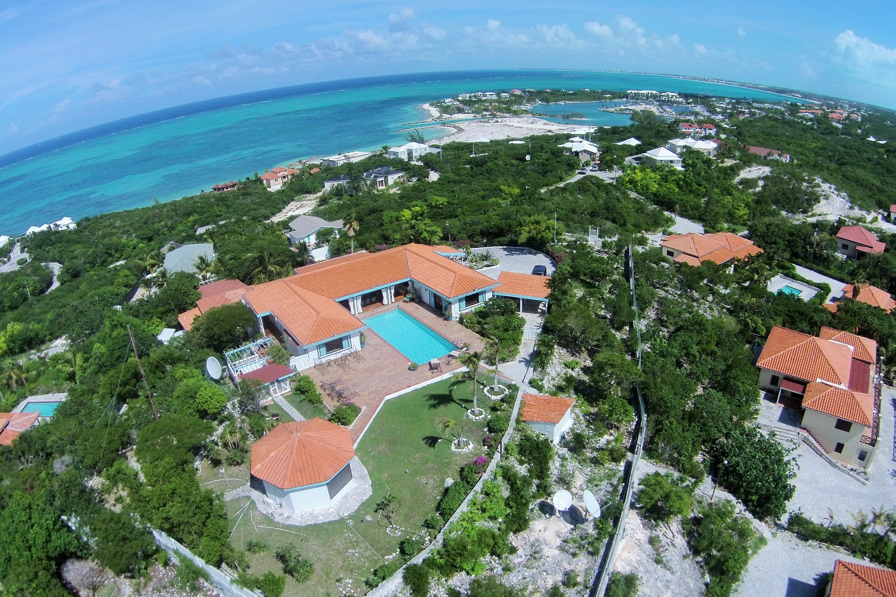 Single Family Home for Sale at Point of View Drive Blue Mountain, Providenciales Turks And Caicos Islands