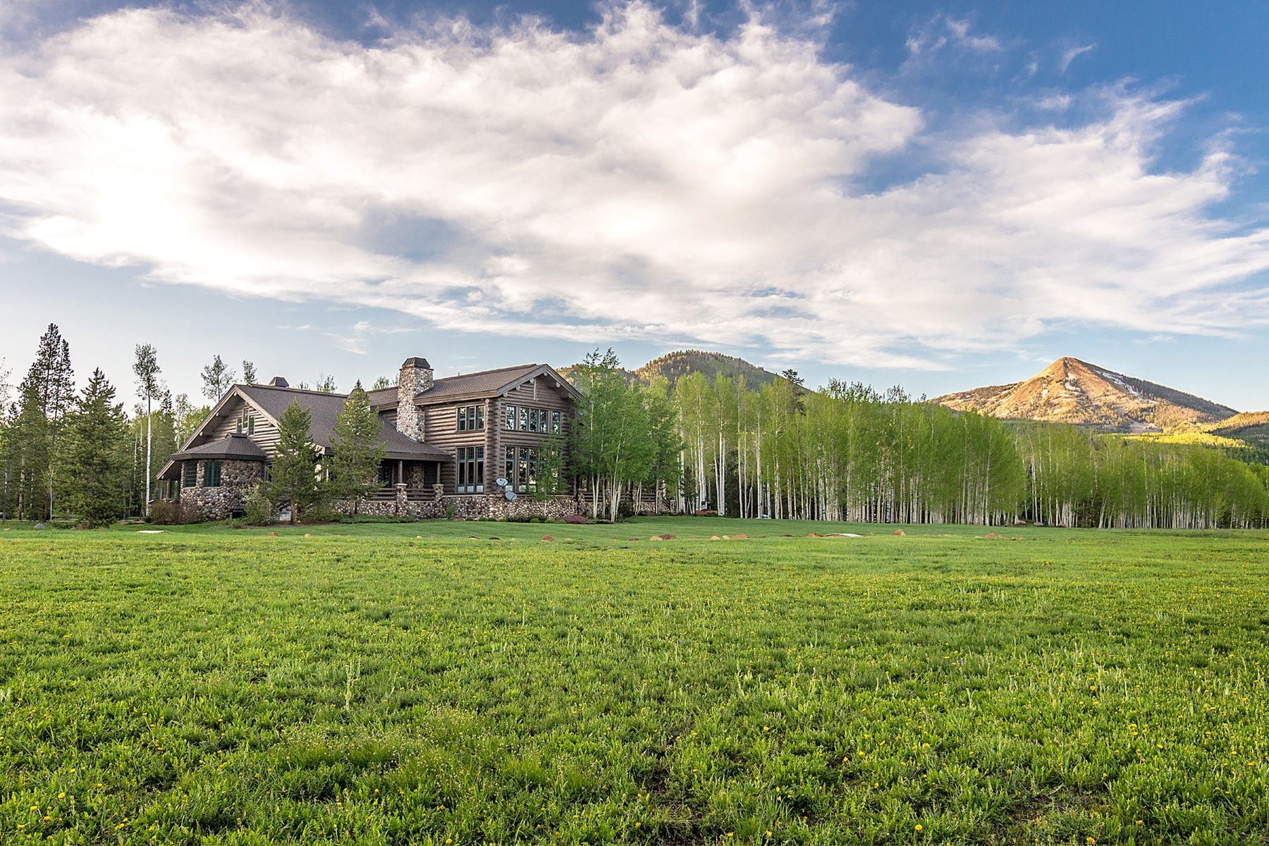 Farm / Ranch / Plantation for Active at Snowy Mountain Ranch 61625 CR 62 Steamboat Springs, Colorado 80487 United States