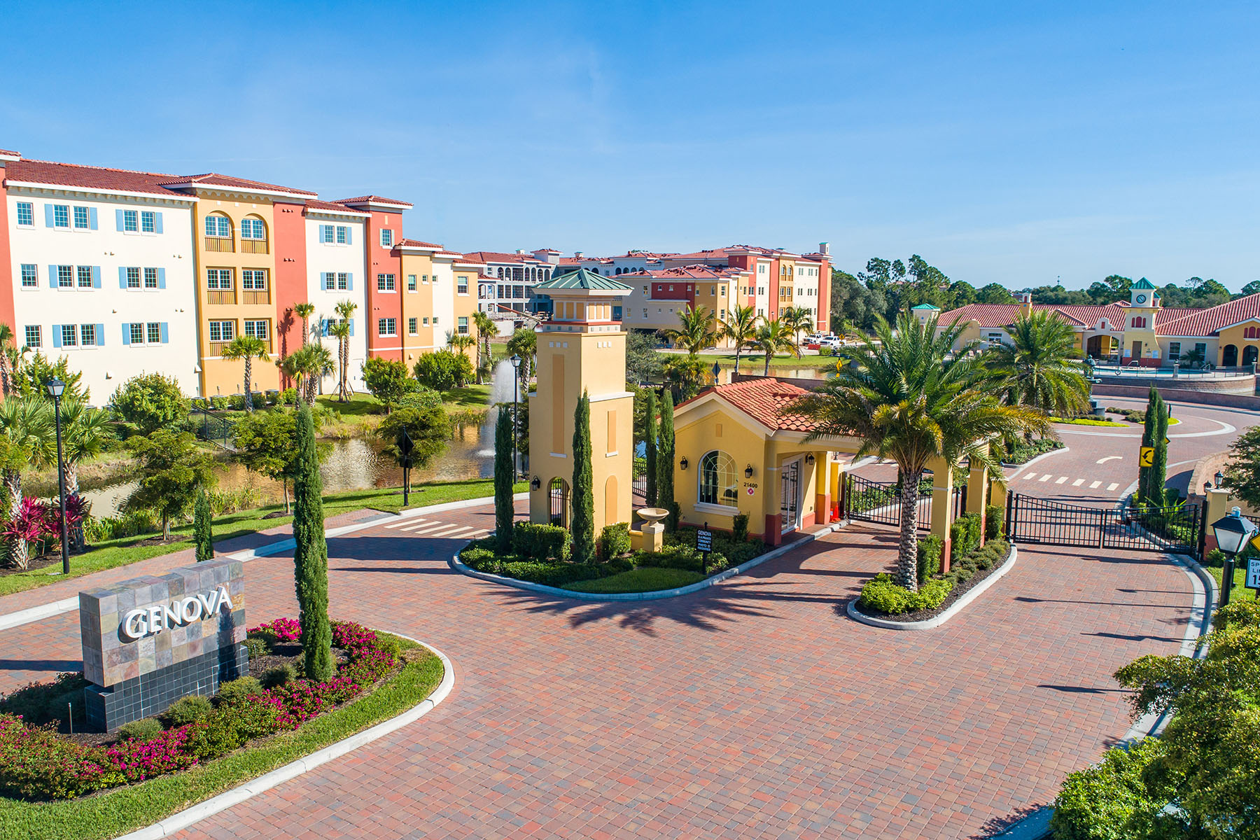 Condominiums for Sale at GENOVA 21520 Strada Nuova Circle , E-215, Estero, Florida 33928 United States
