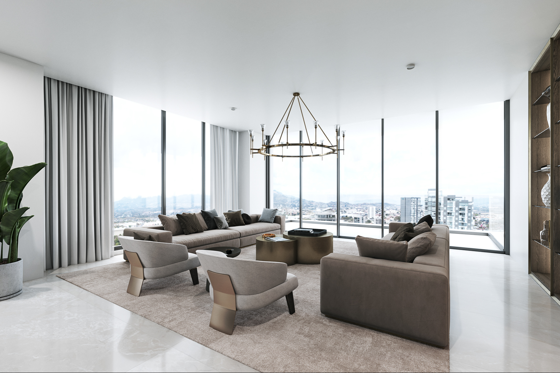 Apartments for Sale at Spectacular Private Luxury Apartments in the Heart of Everything Rohrmoser, San Jose Costa Rica