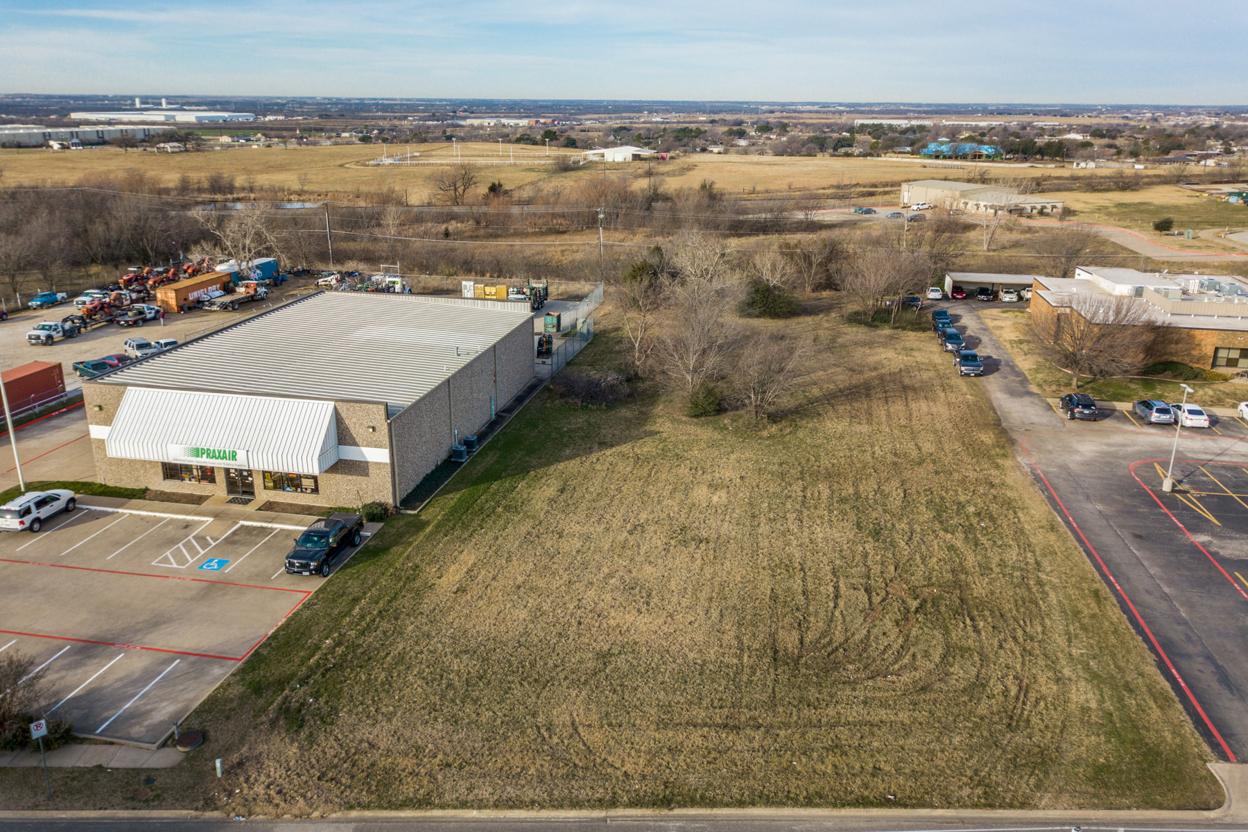 Land for Active at 1 Acre Commercial Lot 00 Mesa Drive Denton, Texas 76207 United States