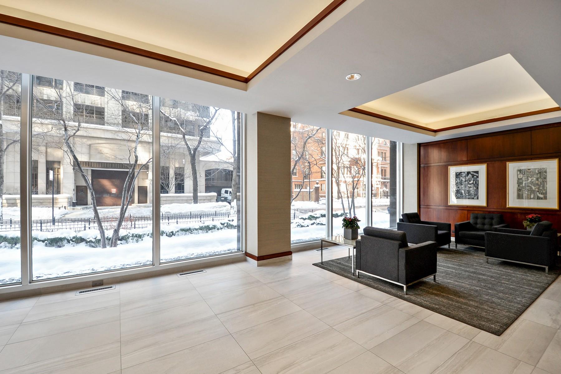 단독 가정 주택 용 매매 에 Sunny South-Facing Corner Unit 1445 N State Street Unit 1106, Near North Side, Chicago, 일리노이즈, 60610 미국