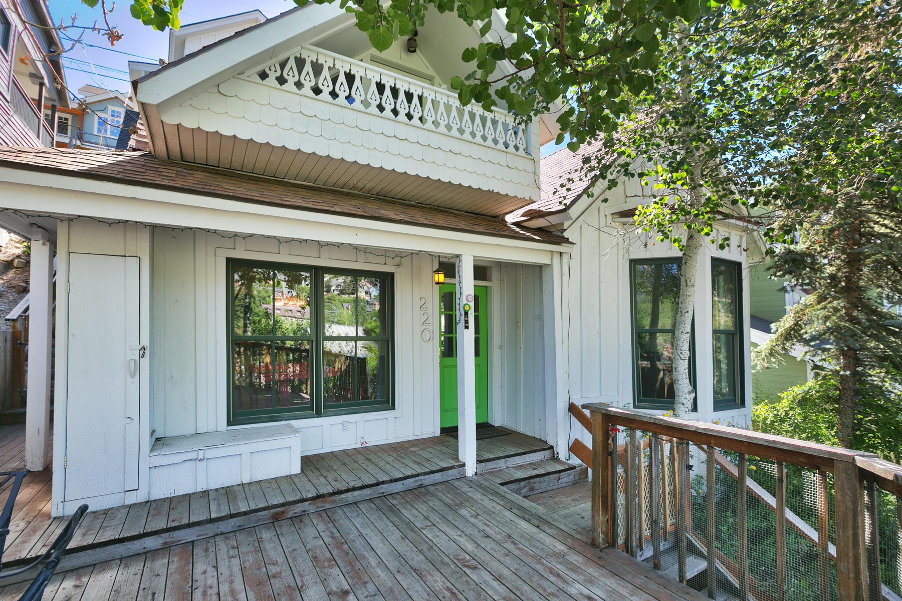 一戸建て のために 売買 アット Historic Old Town Home, Sold As Is 220 Marsac Ave Park City, ユタ, 84060 アメリカ合衆国