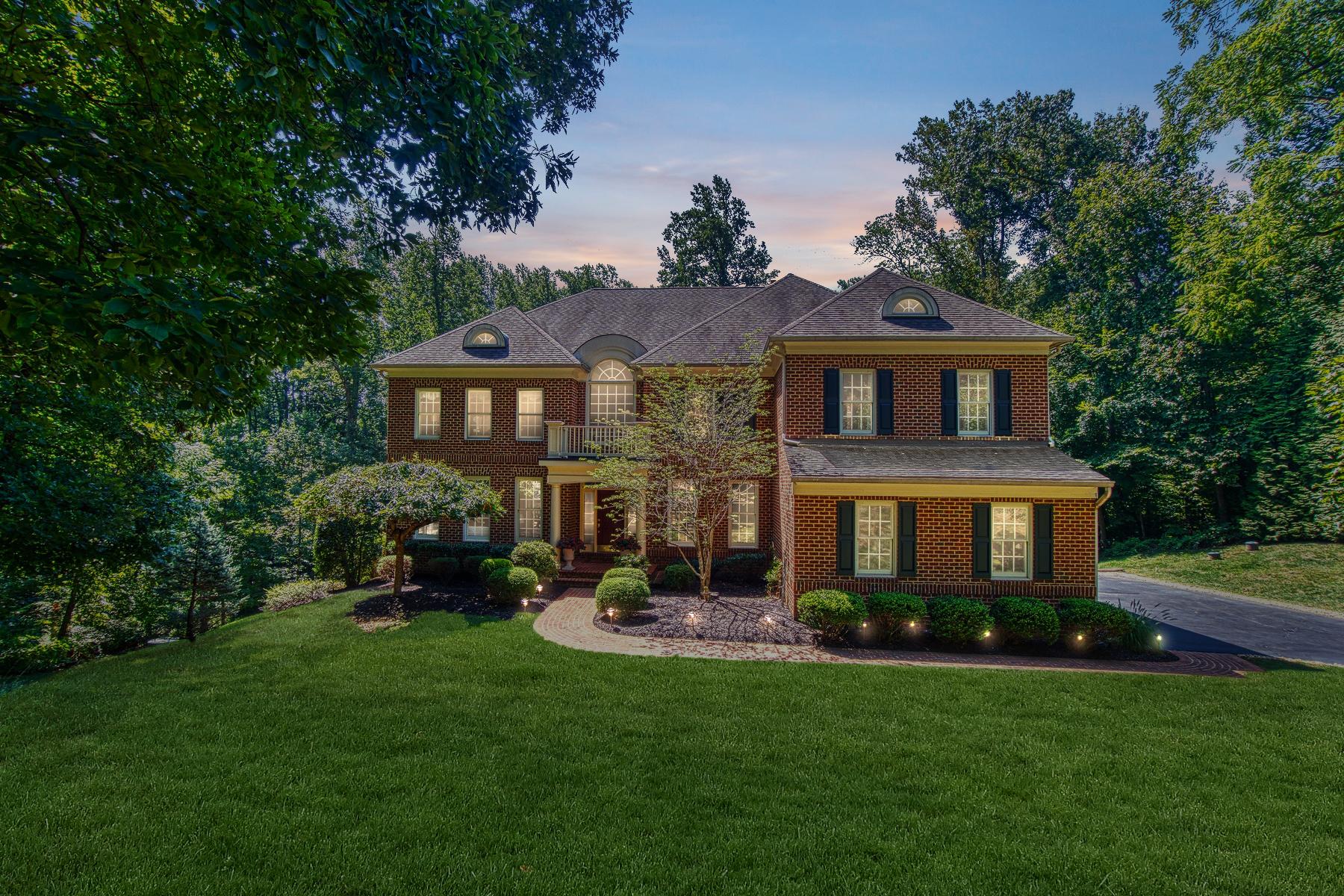 Single Family Homes por un Venta en Elegant Country Estate 40577 Black Gold Place Leesburg, Virginia 20176 Estados Unidos