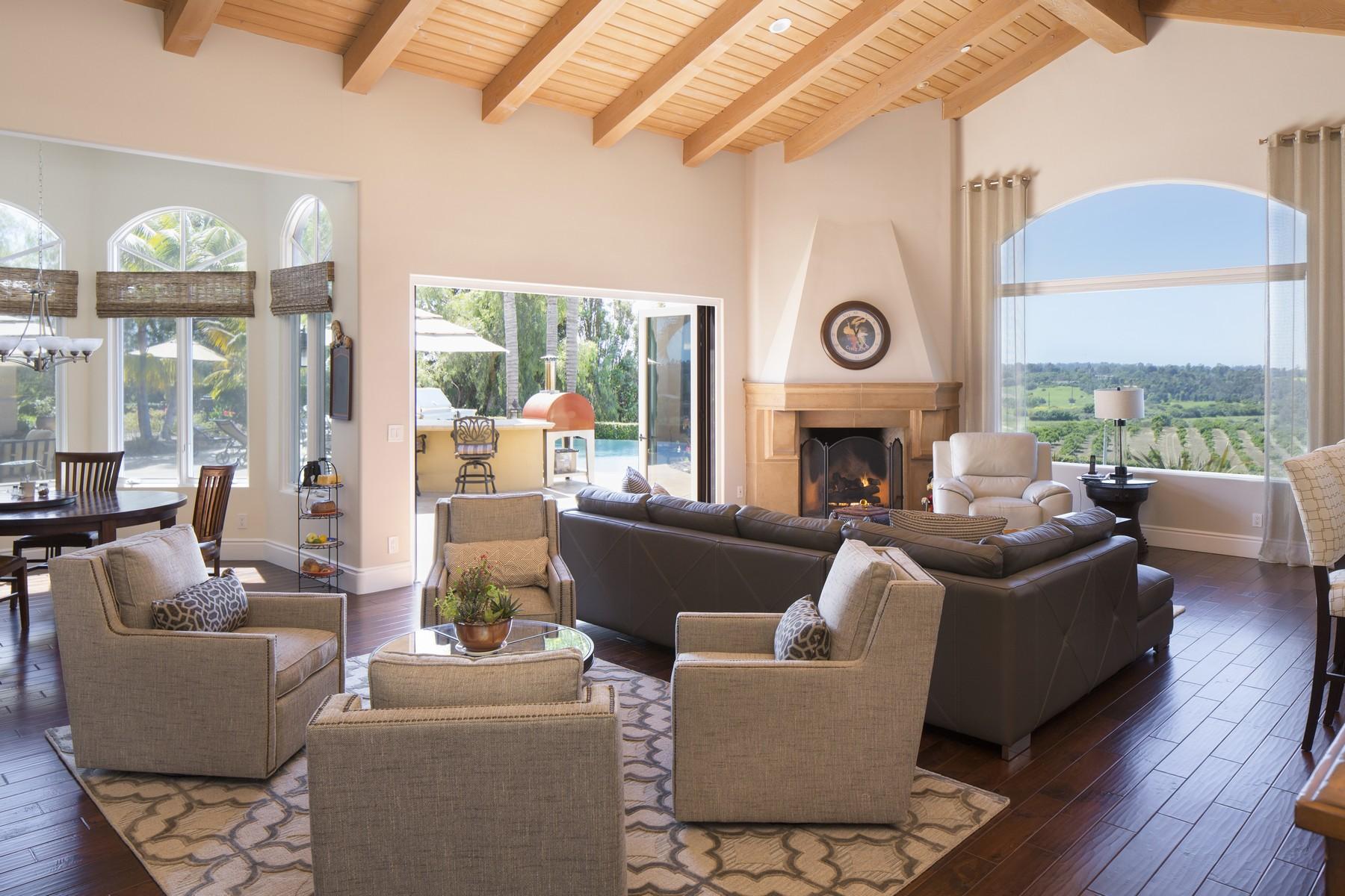 Vivienda unifamiliar por un Venta en 7450 Vista Rancho Court Rancho Santa Fe, California, 92067 Estados Unidos