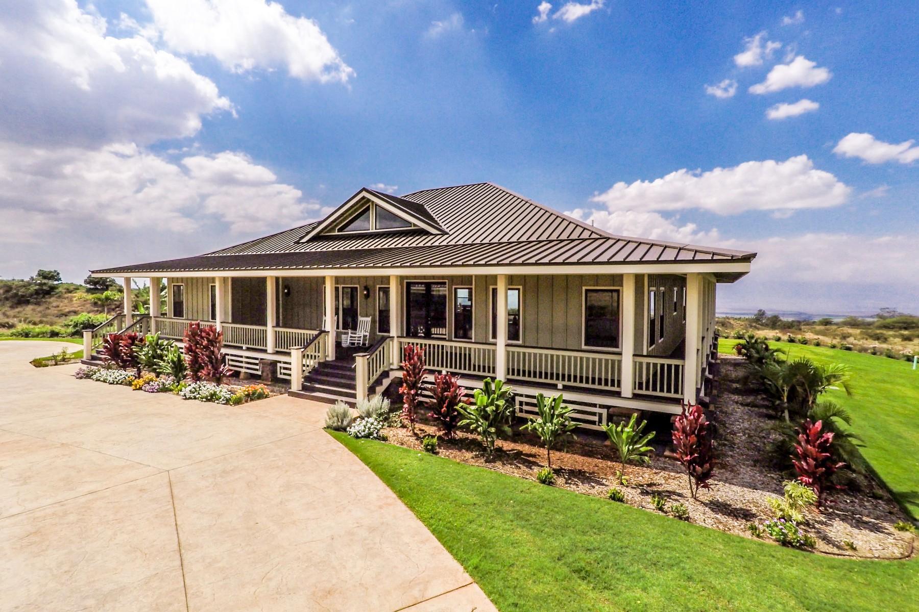 Villa per Vendita alle ore Luxury Plantation Kula Living 148 Hoomaikai Place, Lot 3 Kula, Hawaii, 96790 Stati Uniti
