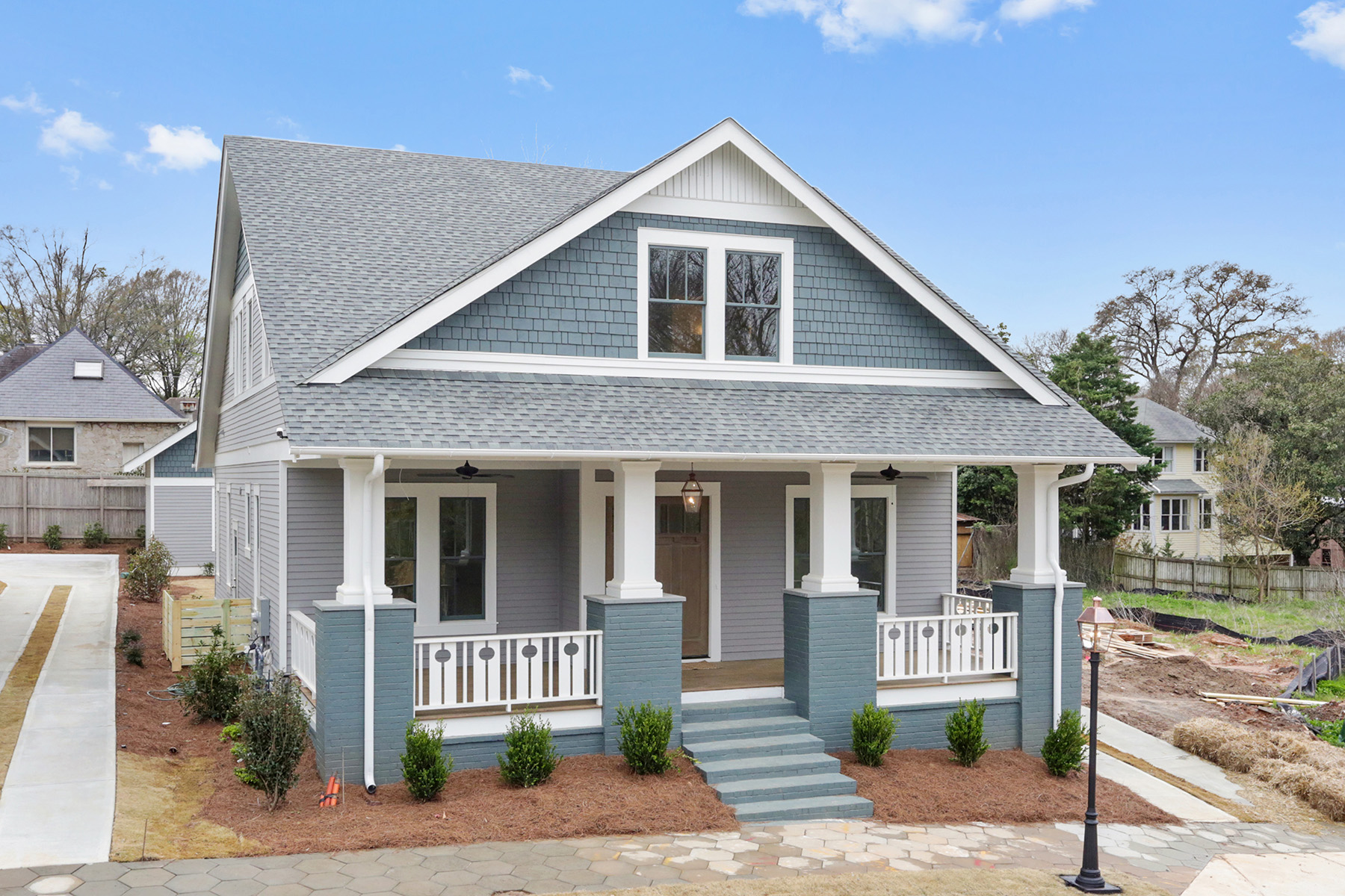 Single Family Home for Sale at New Construction Bungalow in Inman Park Near Atlanta Beltline 204 Haralson Ln Atlanta, Georgia 30307 United States