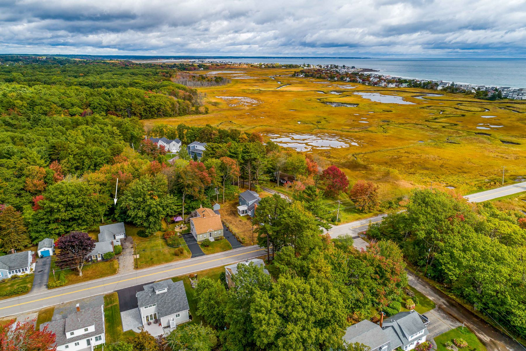 Single Family Homes for Sale at 3 Bedroom Ranch With Extra Building Lot in Wells 128 Bourne Avenue, Wells, Maine 04090 United States