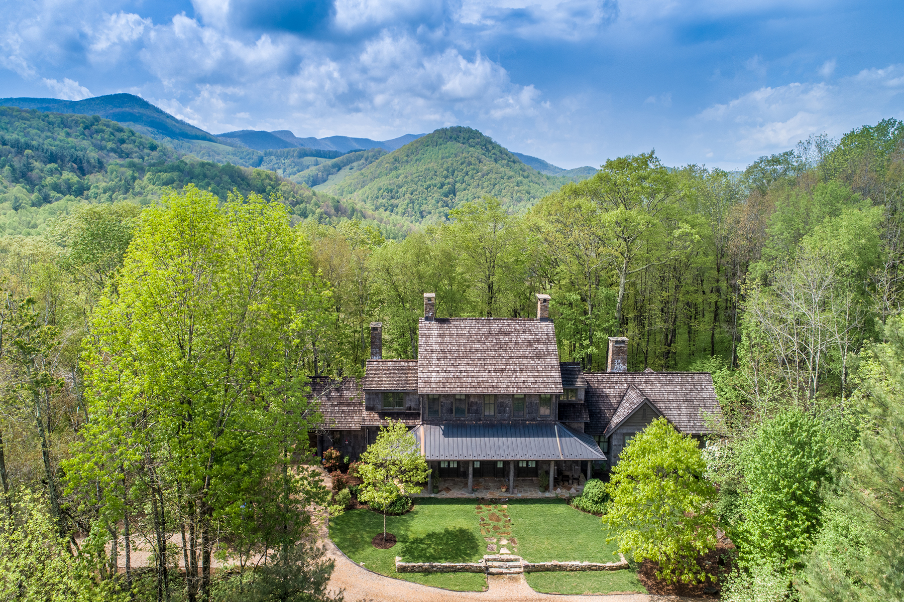 Single Family Home for Active at TODD 649 Bald Fork Rd Todd, North Carolina 28684 United States