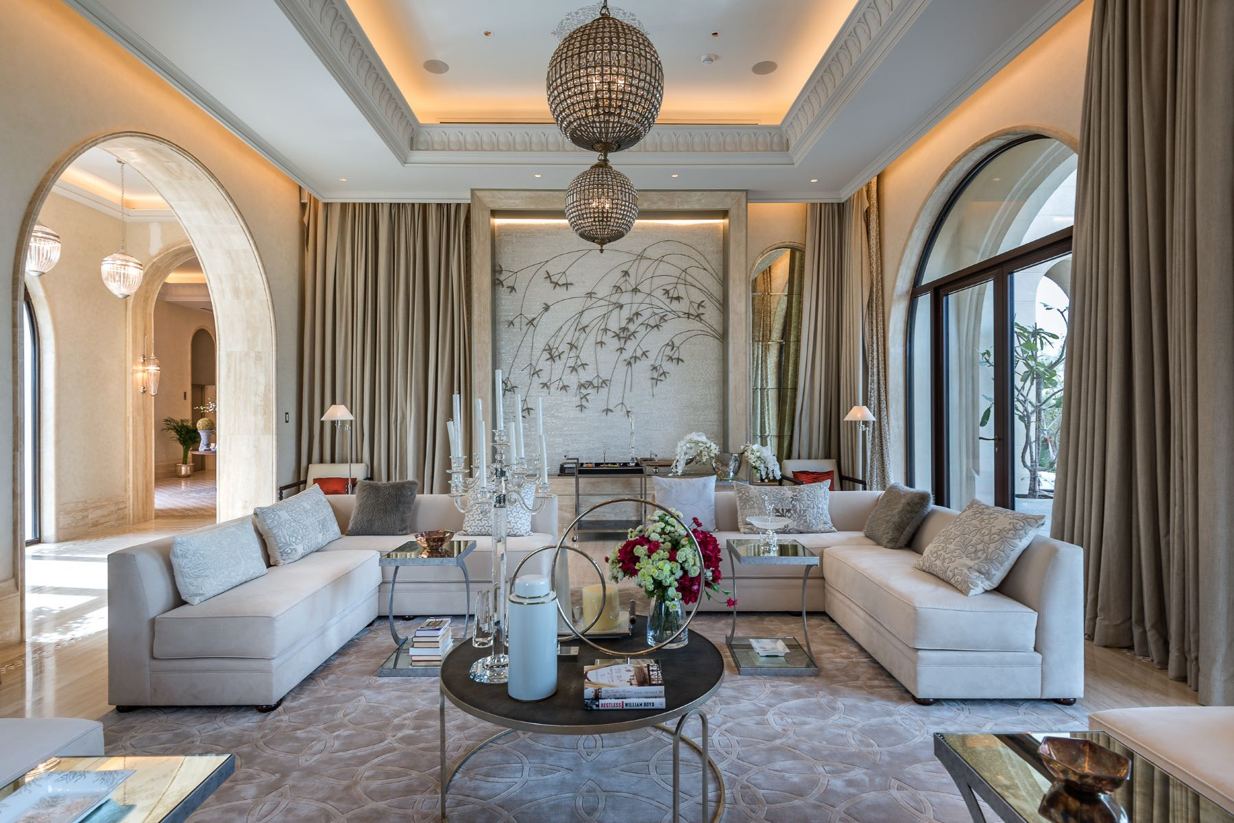 Single Family Home for Sale at Mediteranian Style Mansion Dubai, United Arab Emirates