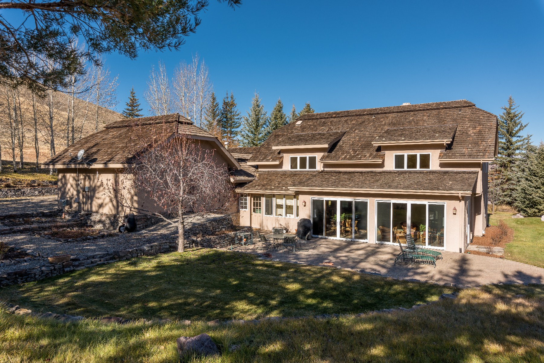Casa Unifamiliar por un Venta en Spectacular Views 517 Juniper Rd Sun Valley, Idaho 83353 Estados Unidos
