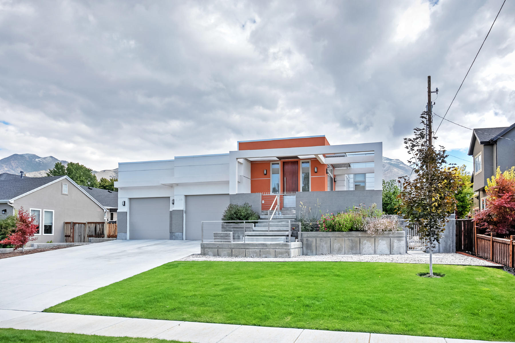 Single Family Home for Sale at Incredible Custom Contemporary Home 3139 South 2600 East Salt Lake City, Utah 84109 United States