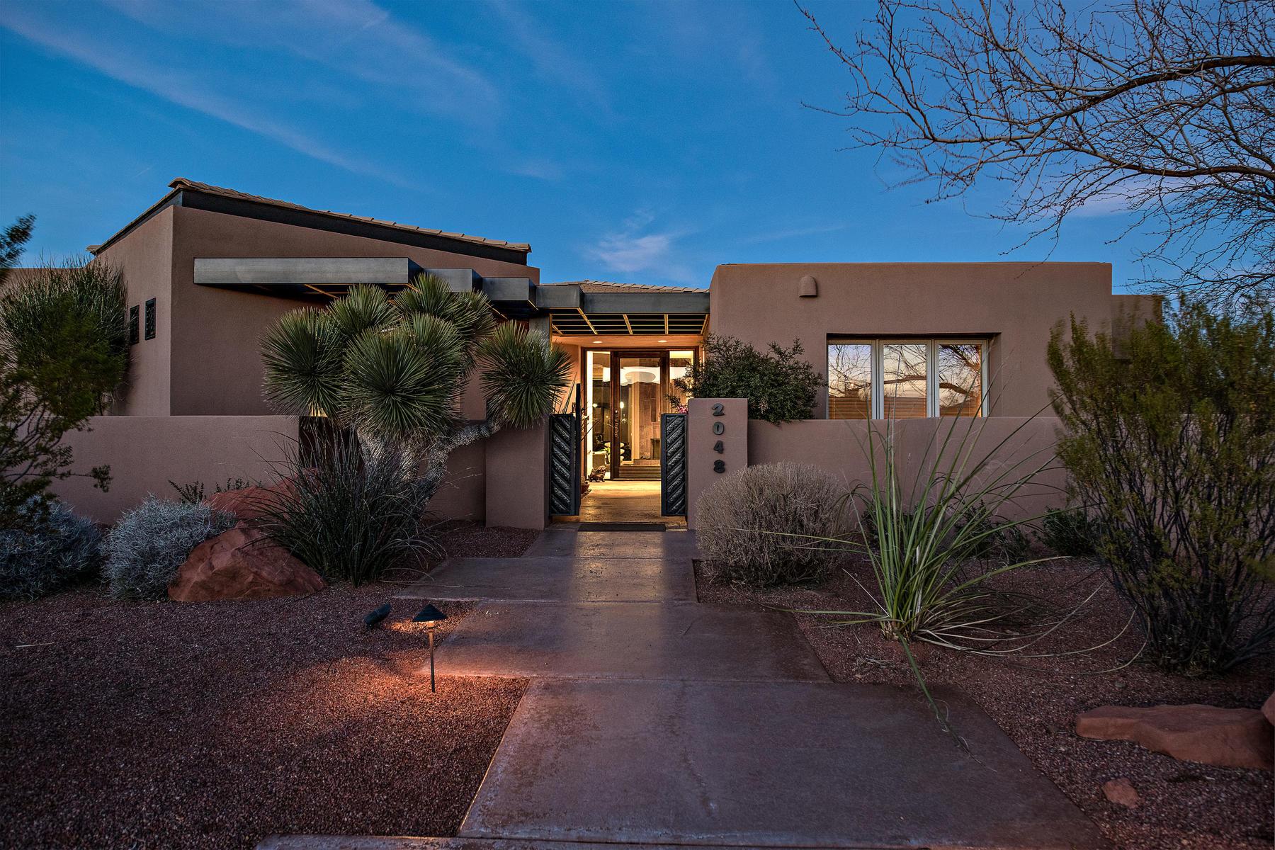 Maison unifamiliale pour l Vente à Elements of Nature 2048 Chettro Trail, St. George, Utah, 84770 États-Unis