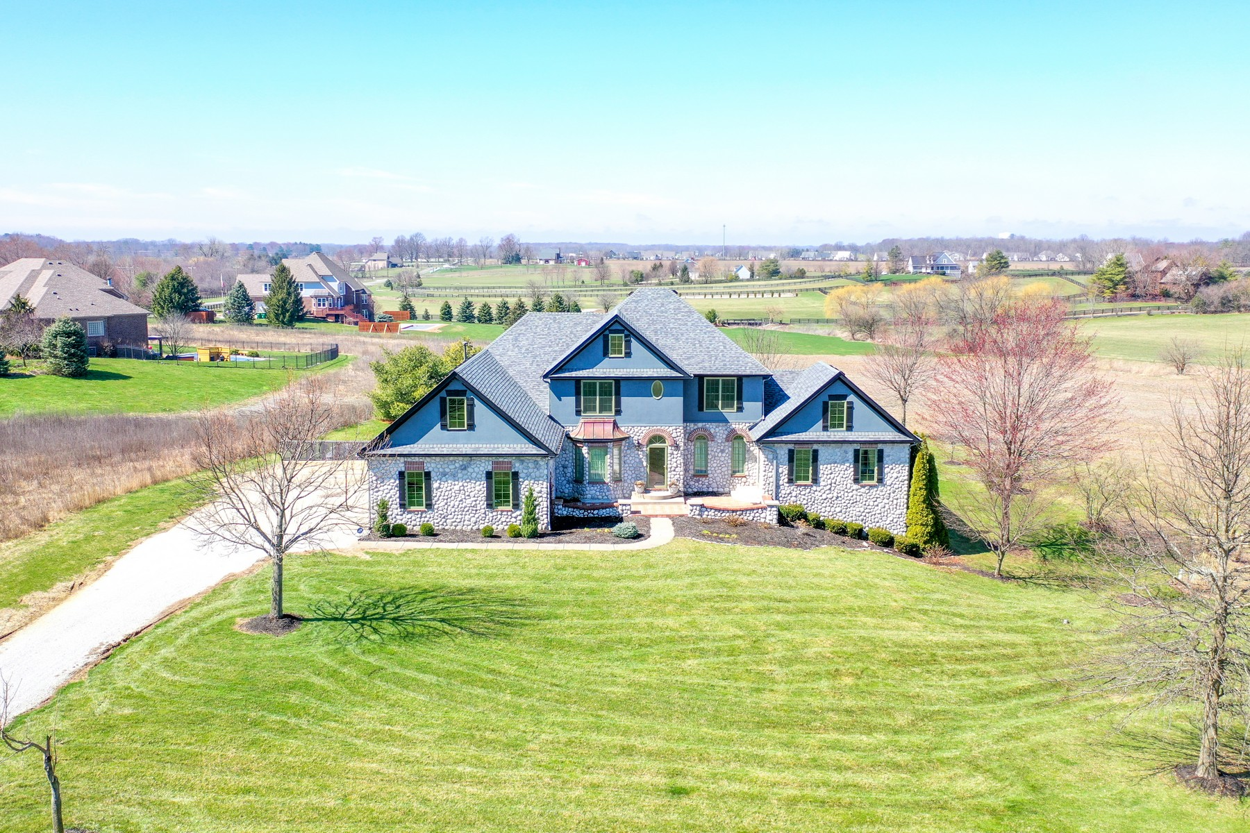 Single Family Homes for Active at Private Estate 16140 Ditch Road Westfield, Indiana 46074 United States