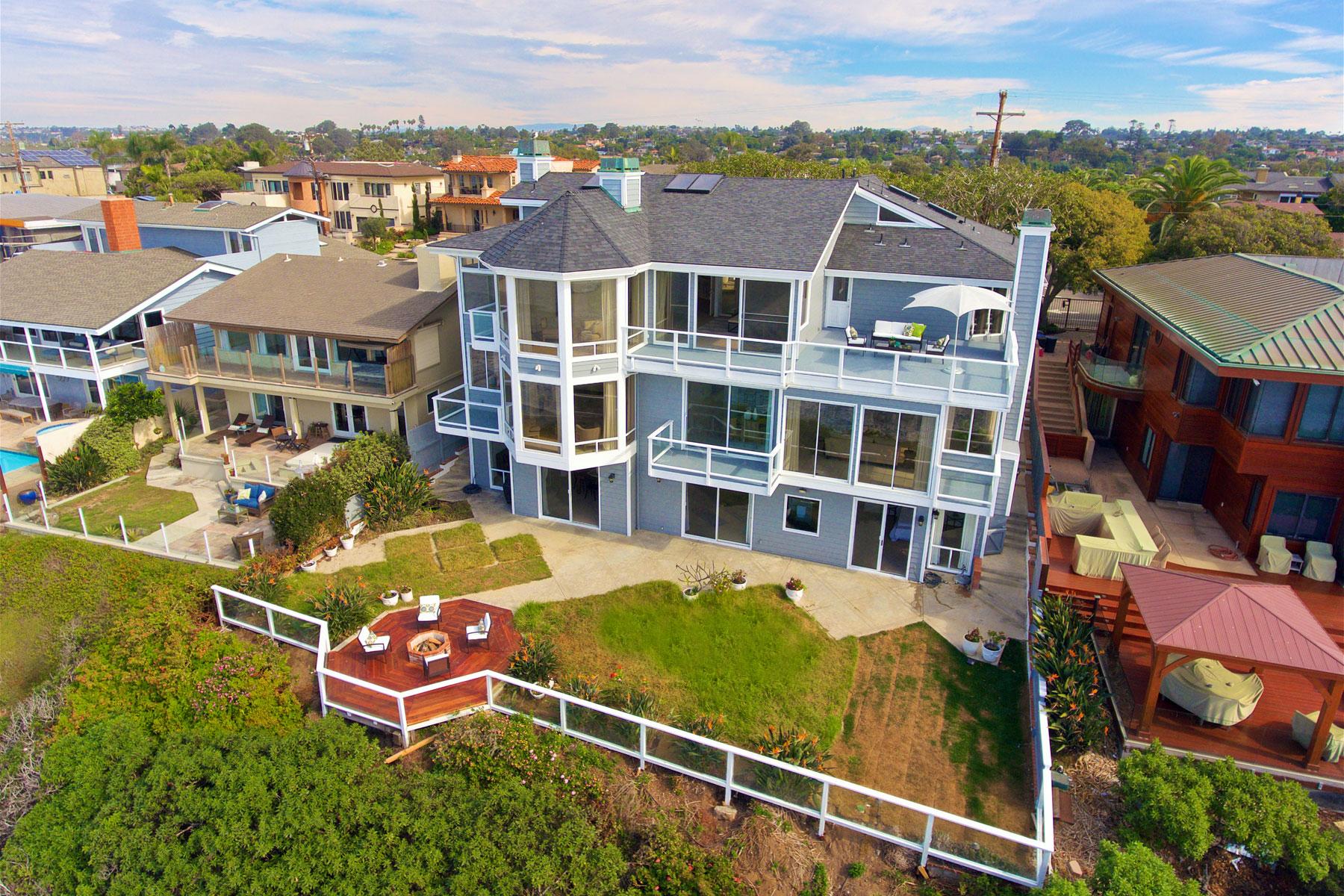 Частный односемейный дом для того Продажа на 1210 Neptune Ave Encinitas, Калифорния, 92024 Соединенные Штаты