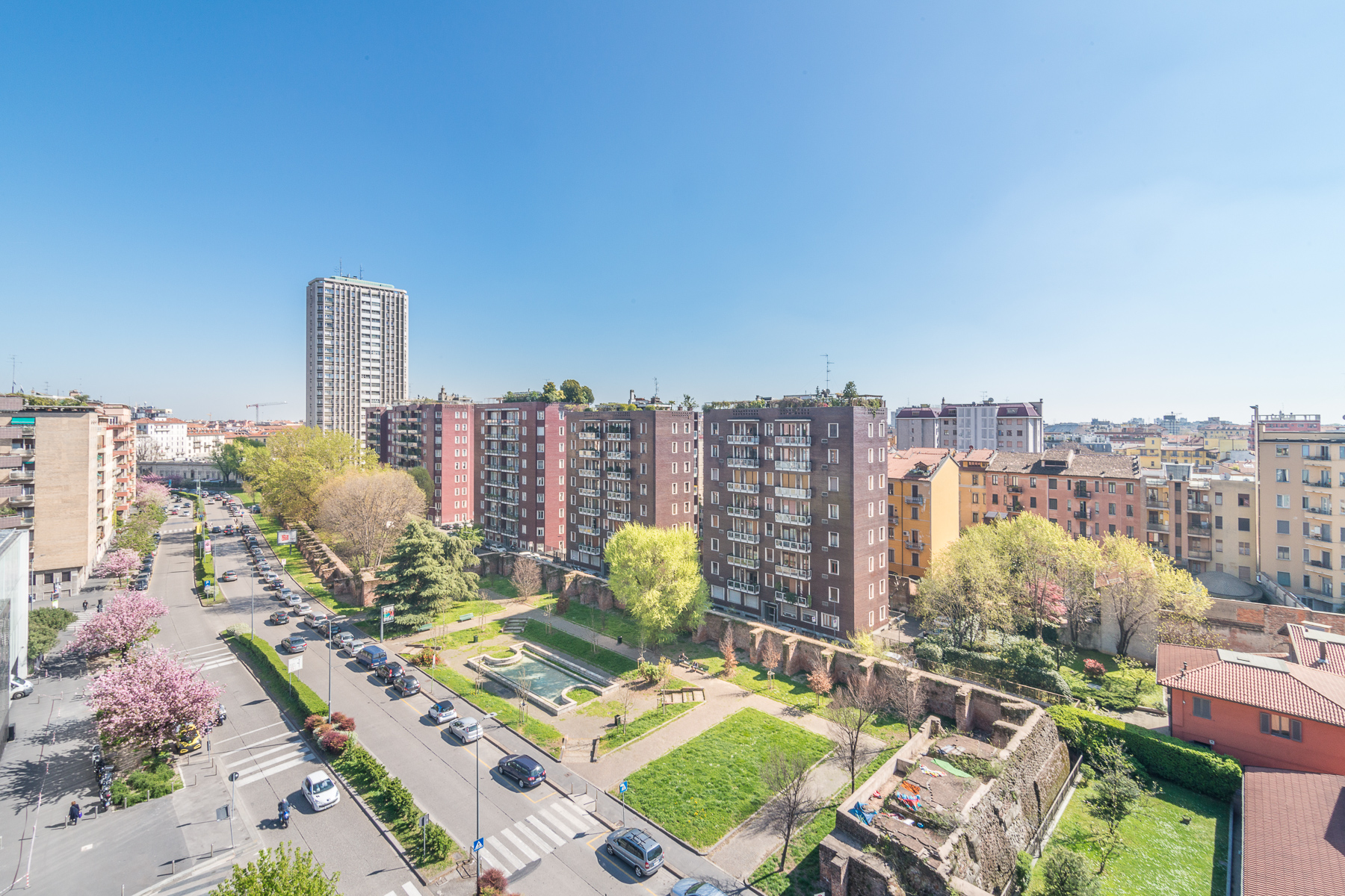 Apartment for Sale at Extremely bright apartment with breath- taking view of the city Viale Angelo Filippetti Milano, Milan 20122 Italy