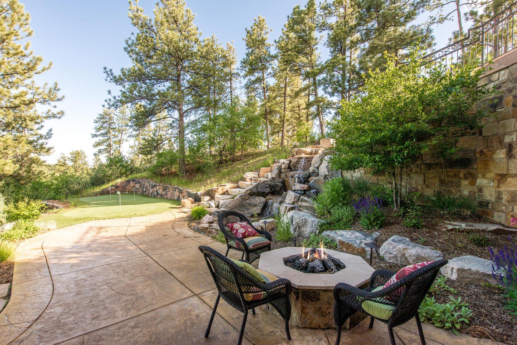 Additional photo for property listing at Spectacular Custom Estate in Castle Pines Village 4 Elk Pointe Lane Castle Rock, Colorado 80108 United States