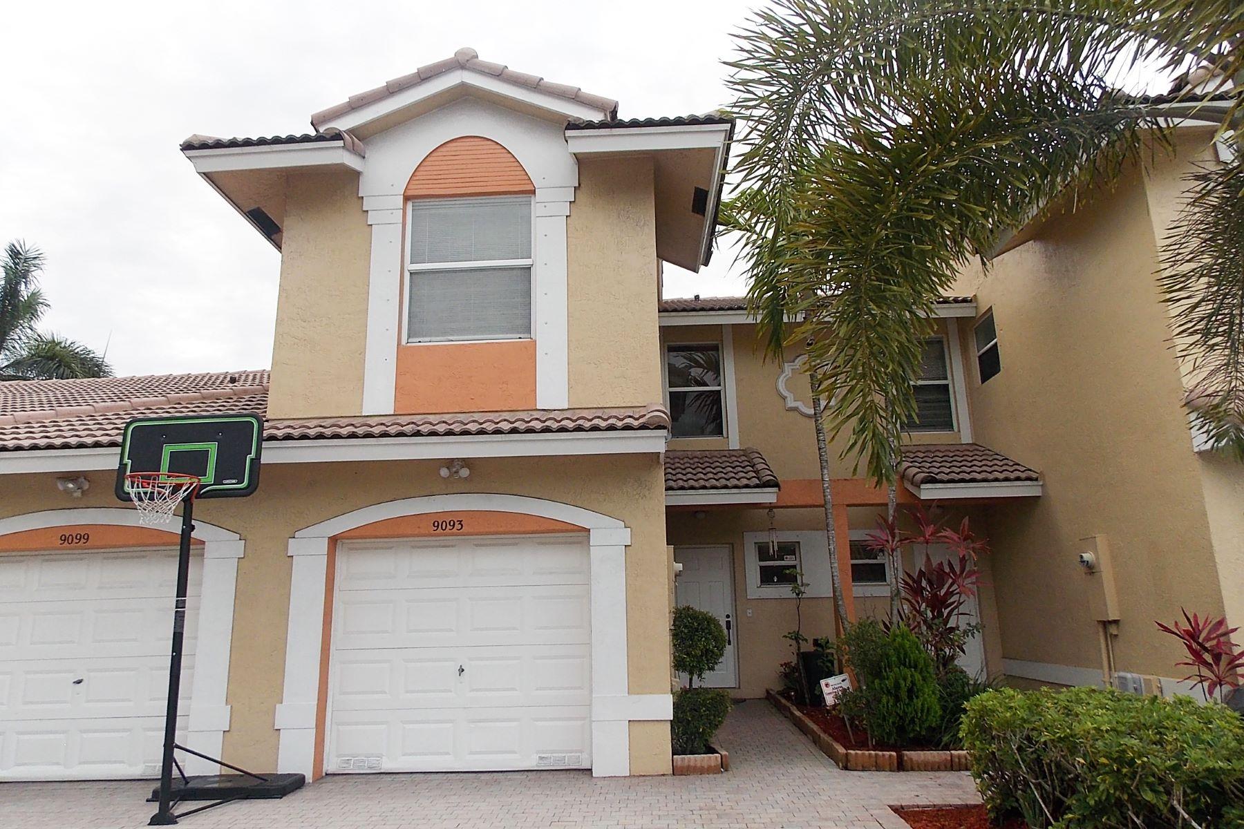 Stadthaus für Verkauf beim 9093 NW 55 CT # 102-B Sunrise, Florida, 33325 Vereinigte Staaten