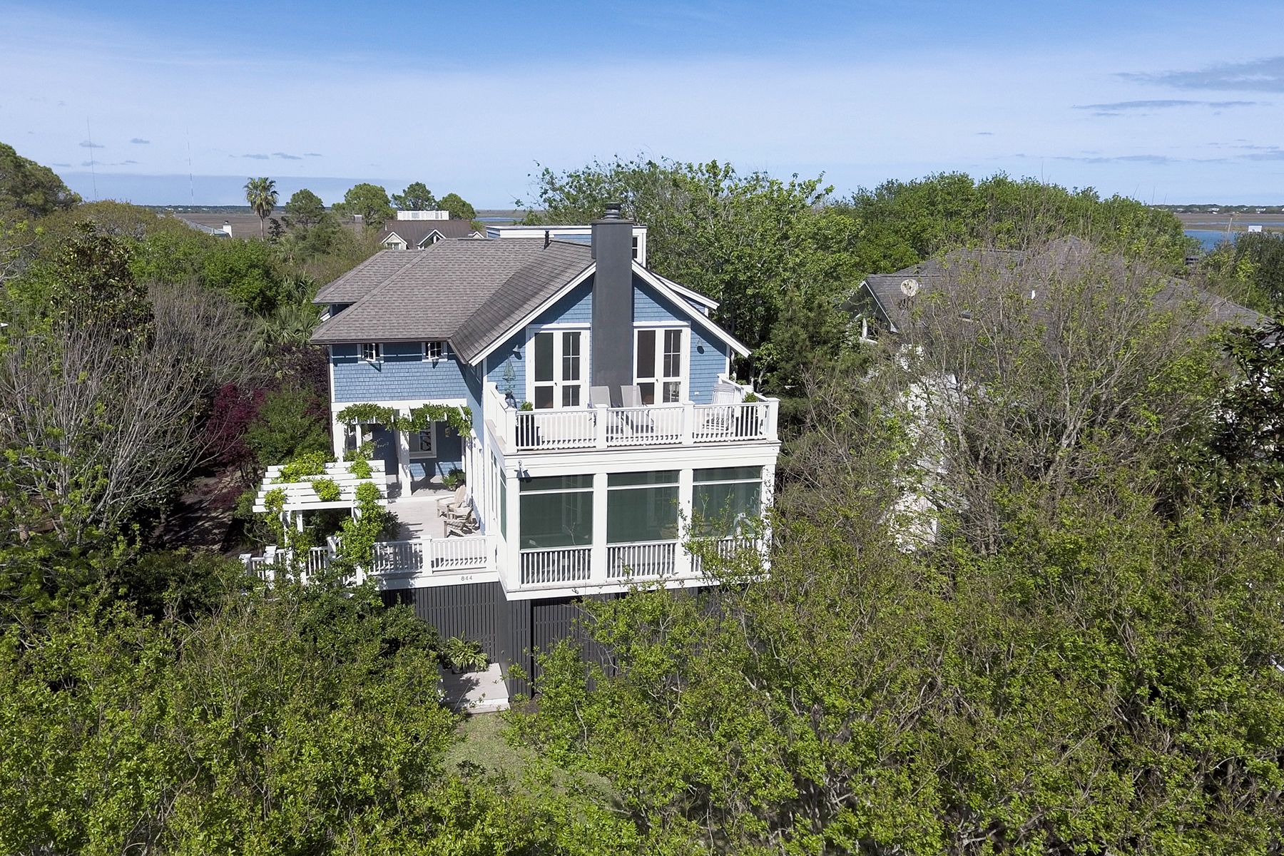 Single Family Home for Sale at 844 Middle Street Sullivans Island, South Carolina, 29482 United States