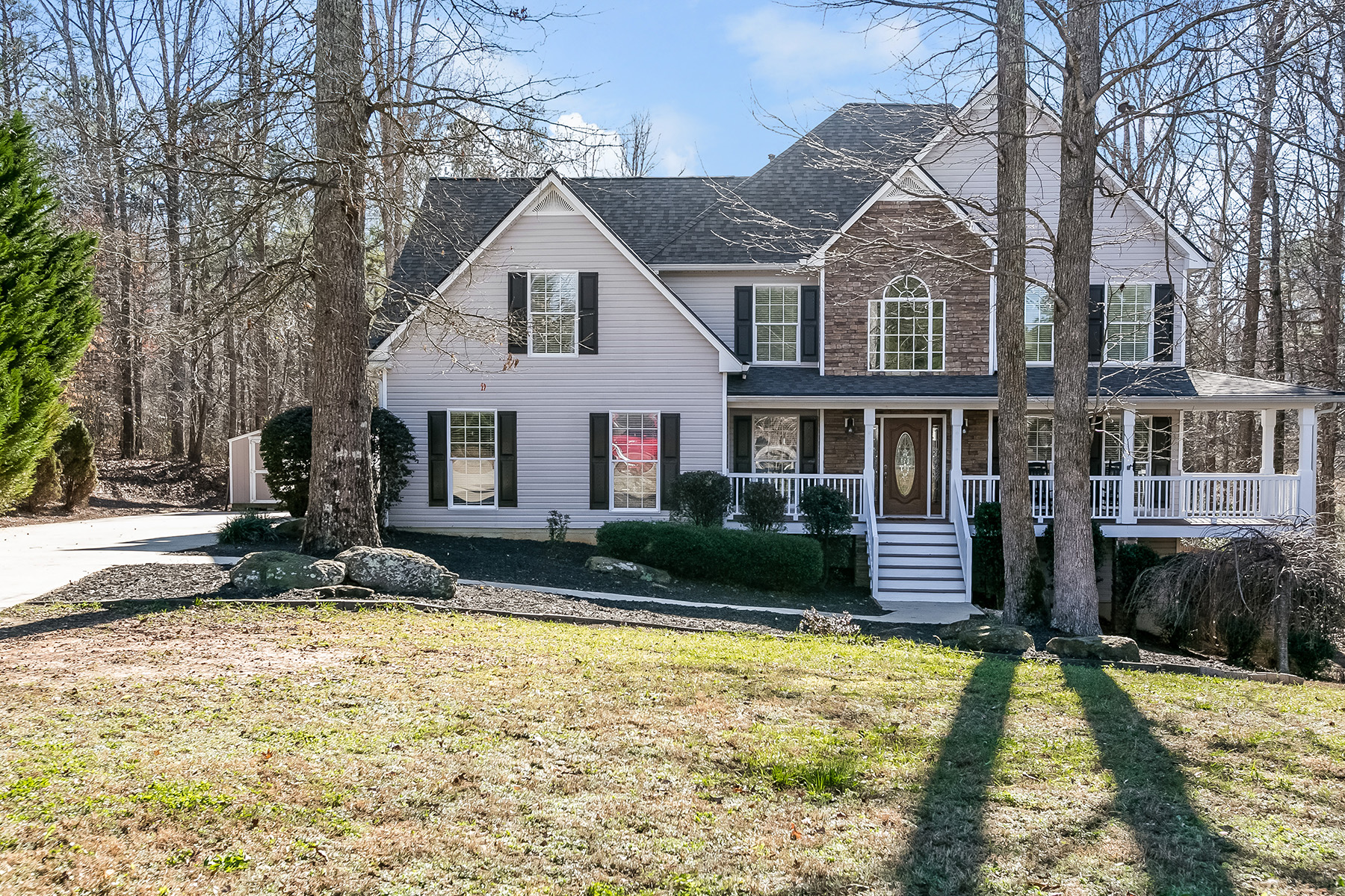 Single Family Home for Sale at Open Concept Custom Appointed Home 151 Mill Chase Court Hiram, Georgia 30141 United States