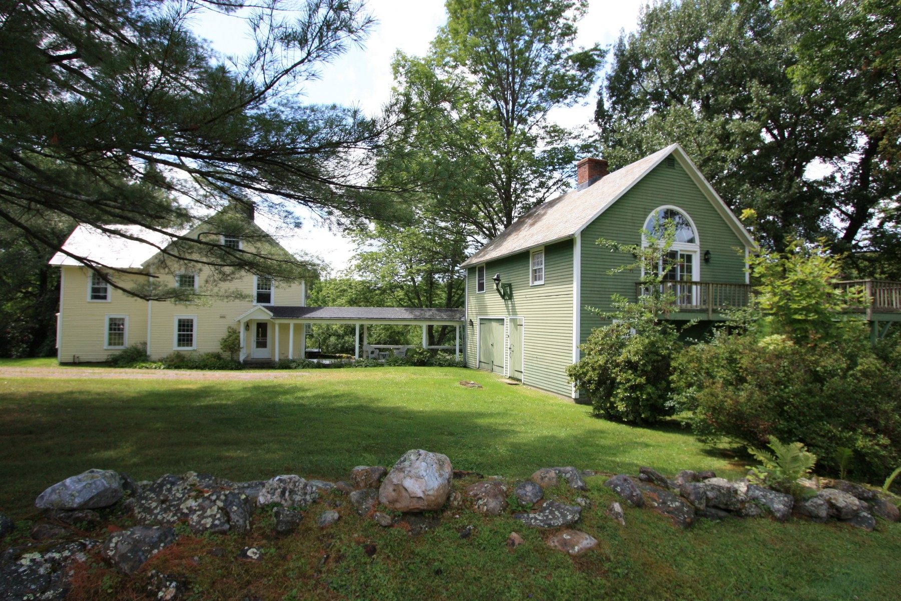 Single Family Homes for Sale at Dorset Hollow Colonial 1743 Lower Hollow Road Dorset, Vermont 05251 United States