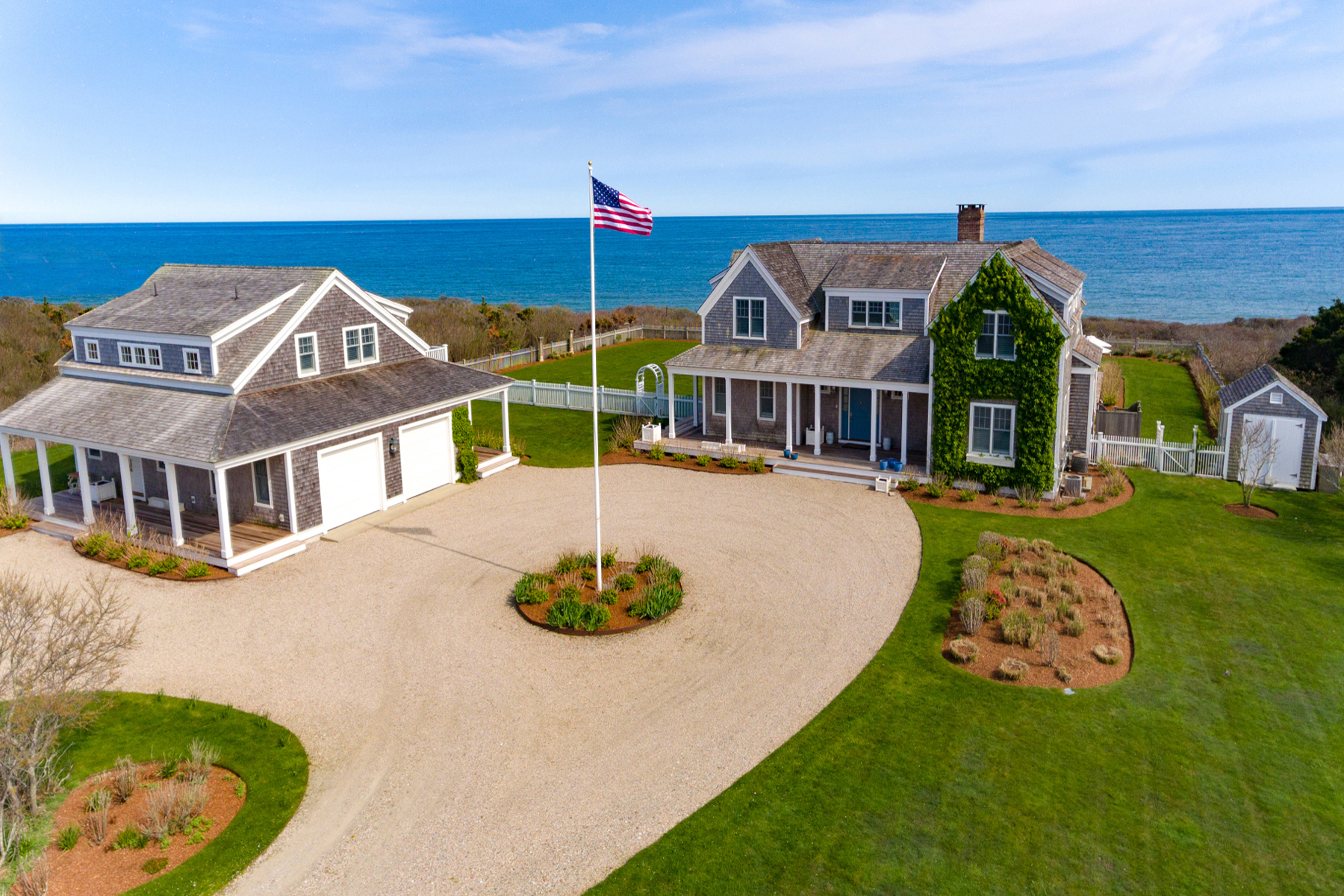 Single Family Homes for Active at Oceanfront 98 Tom Nevers Road Nantucket, Massachusetts 02554 United States